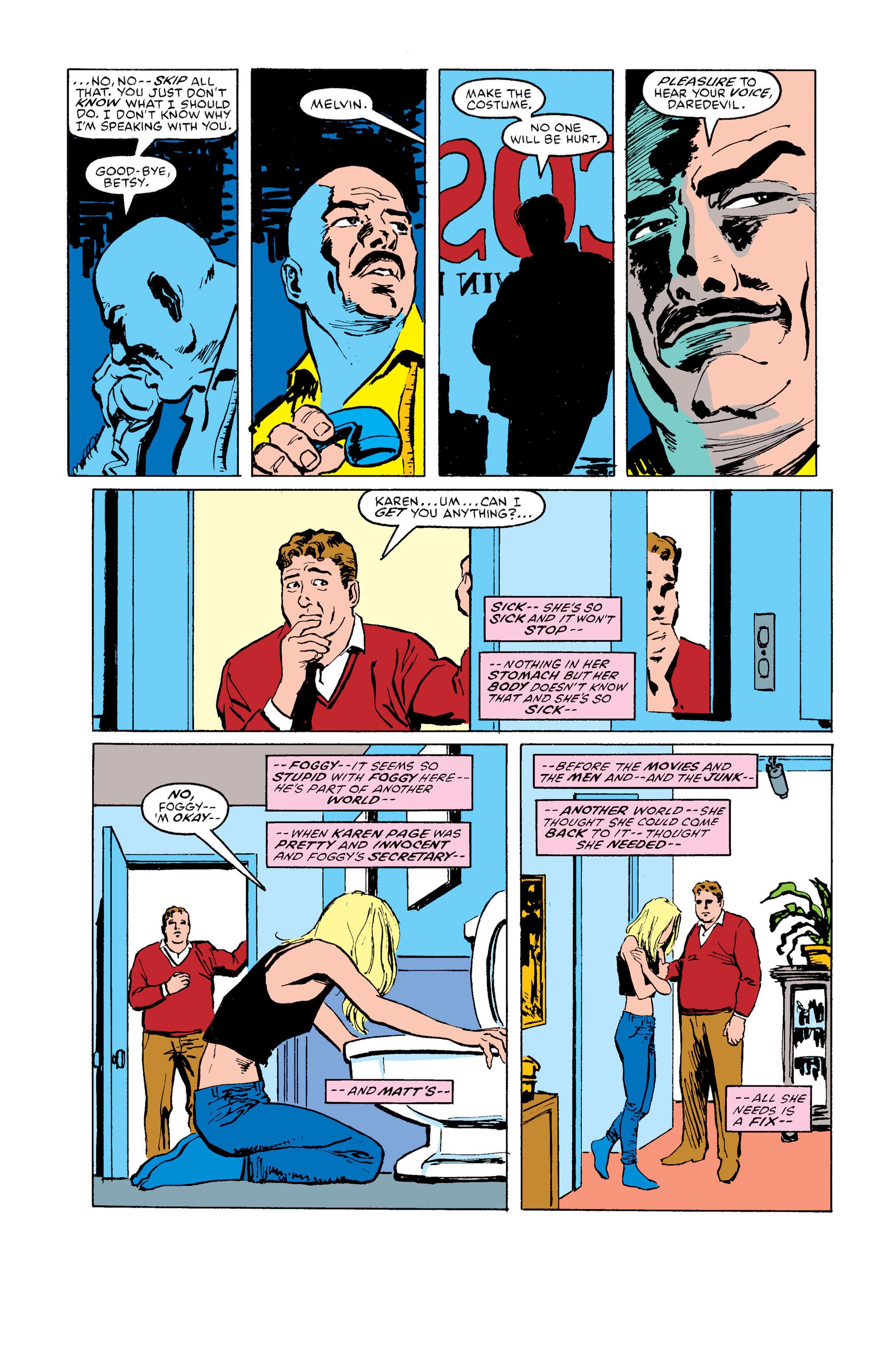 Read online Daredevil: Born Again comic -  Issue # Full - 134