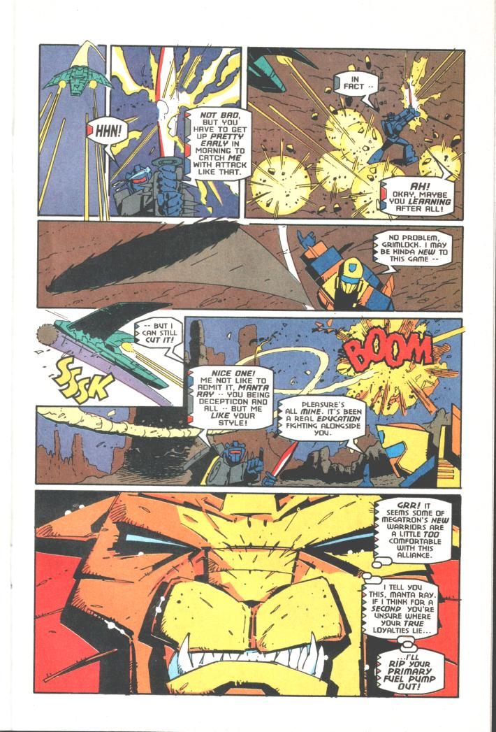 Read online Transformers: Generation 2 comic -  Issue #10 - 20