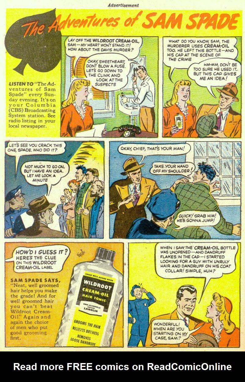 Read online Sensation (Mystery) Comics comic -  Issue #67 - 24