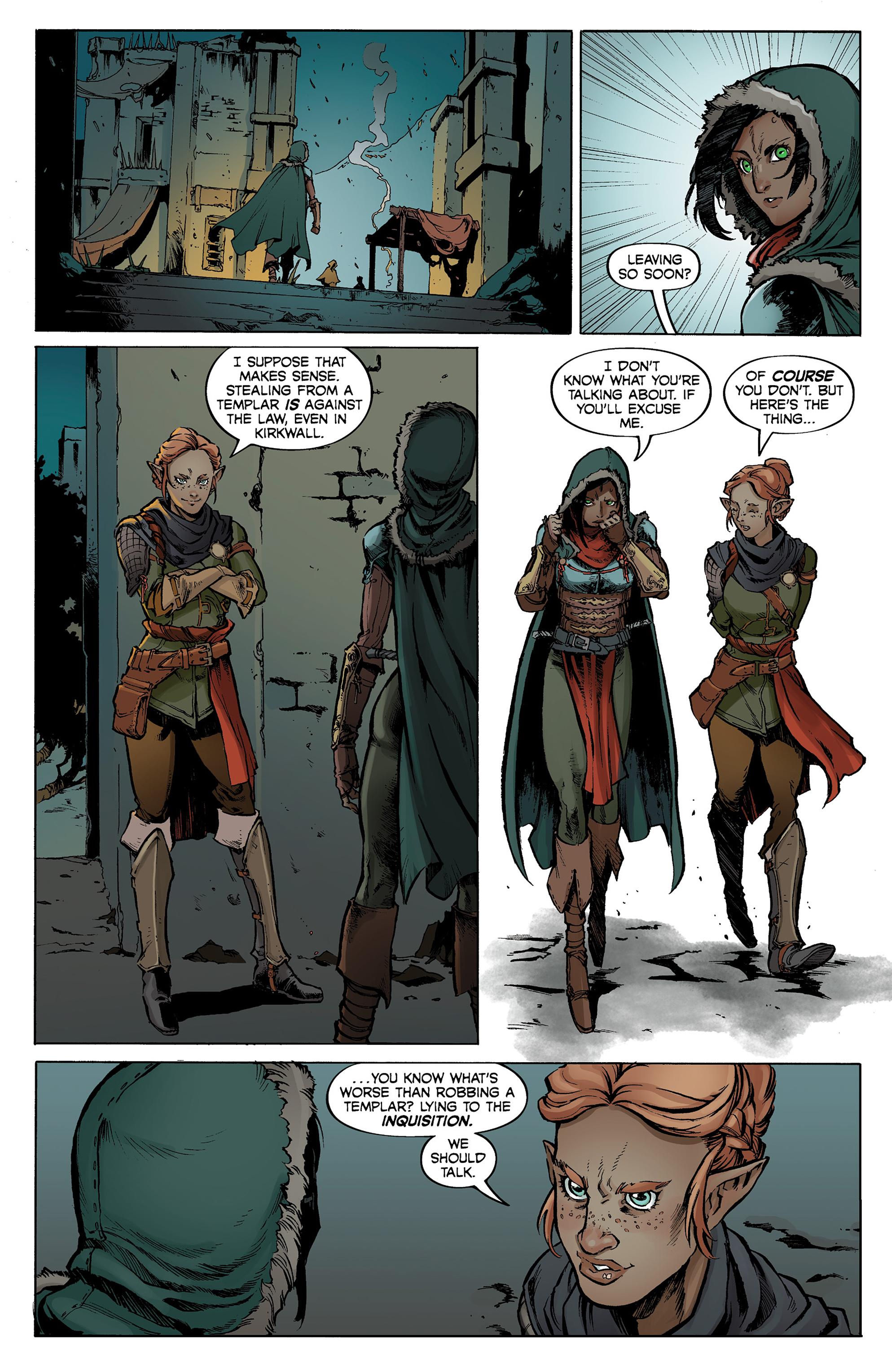 Read online Dragon Age: Knight Errant comic -  Issue #1 - 22