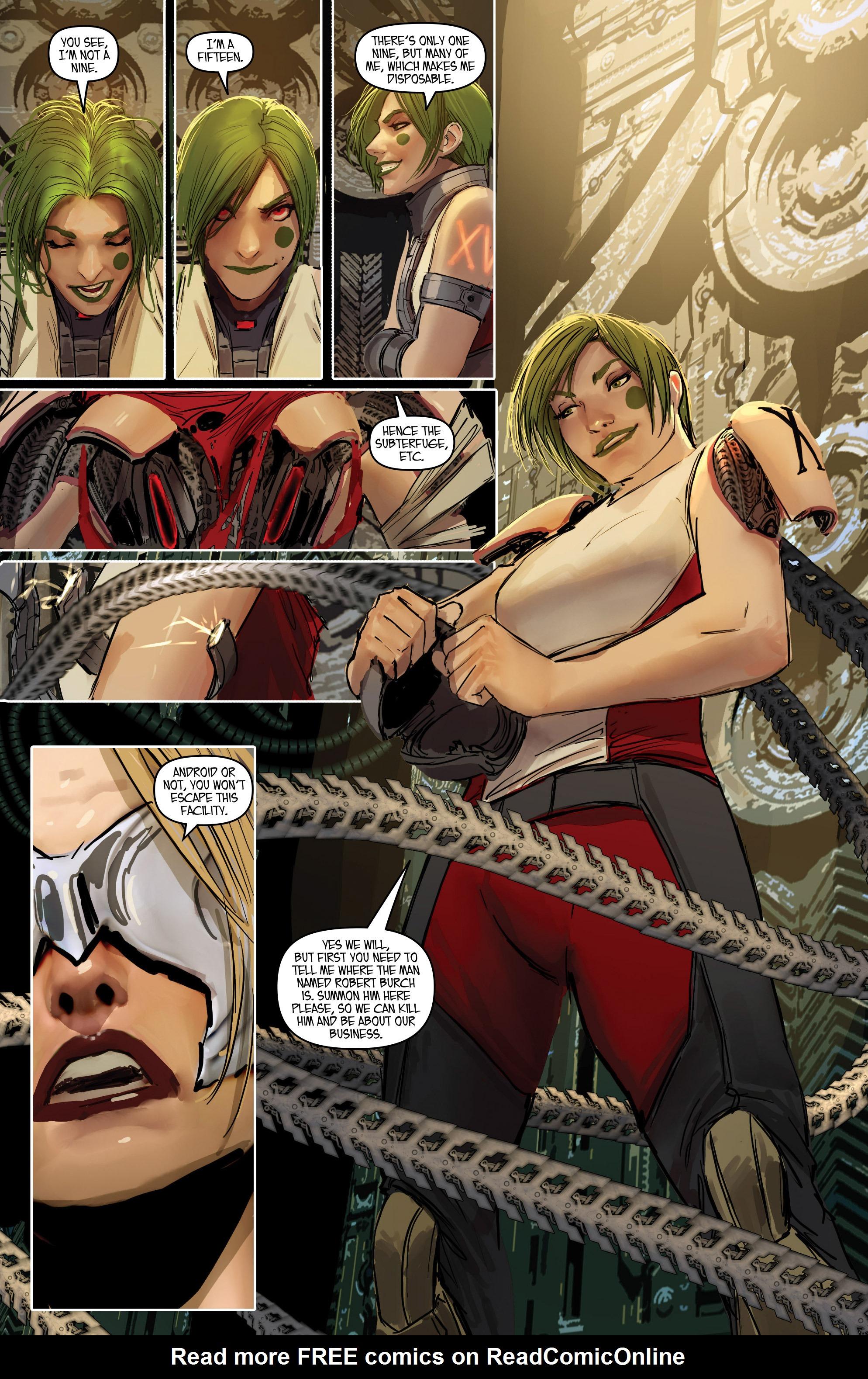 Read online Aphrodite IX (2013) comic -  Issue #Aphrodite IX (2013) _TPB 2 - 54