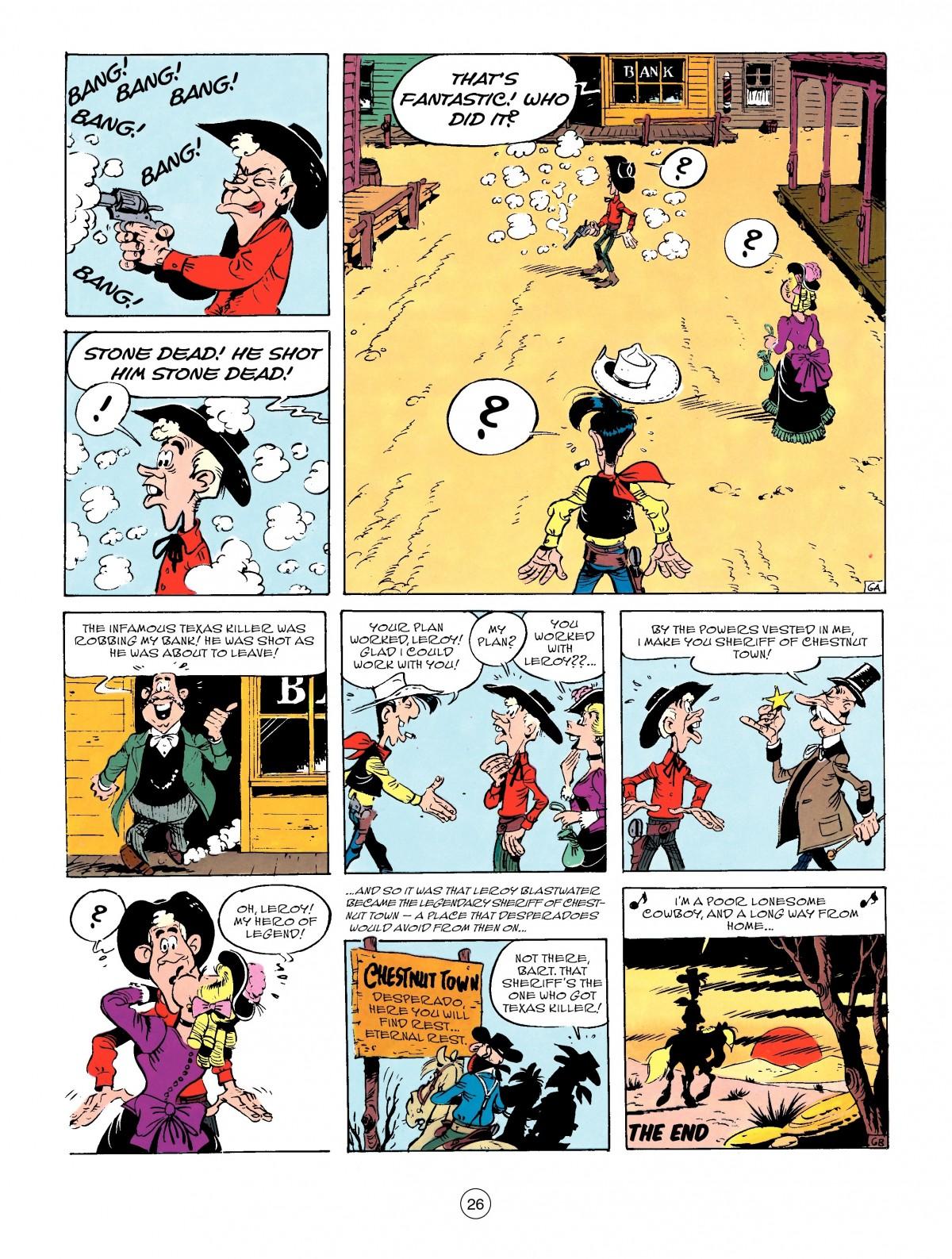 Read online A Lucky Luke Adventure comic -  Issue #50 - 26