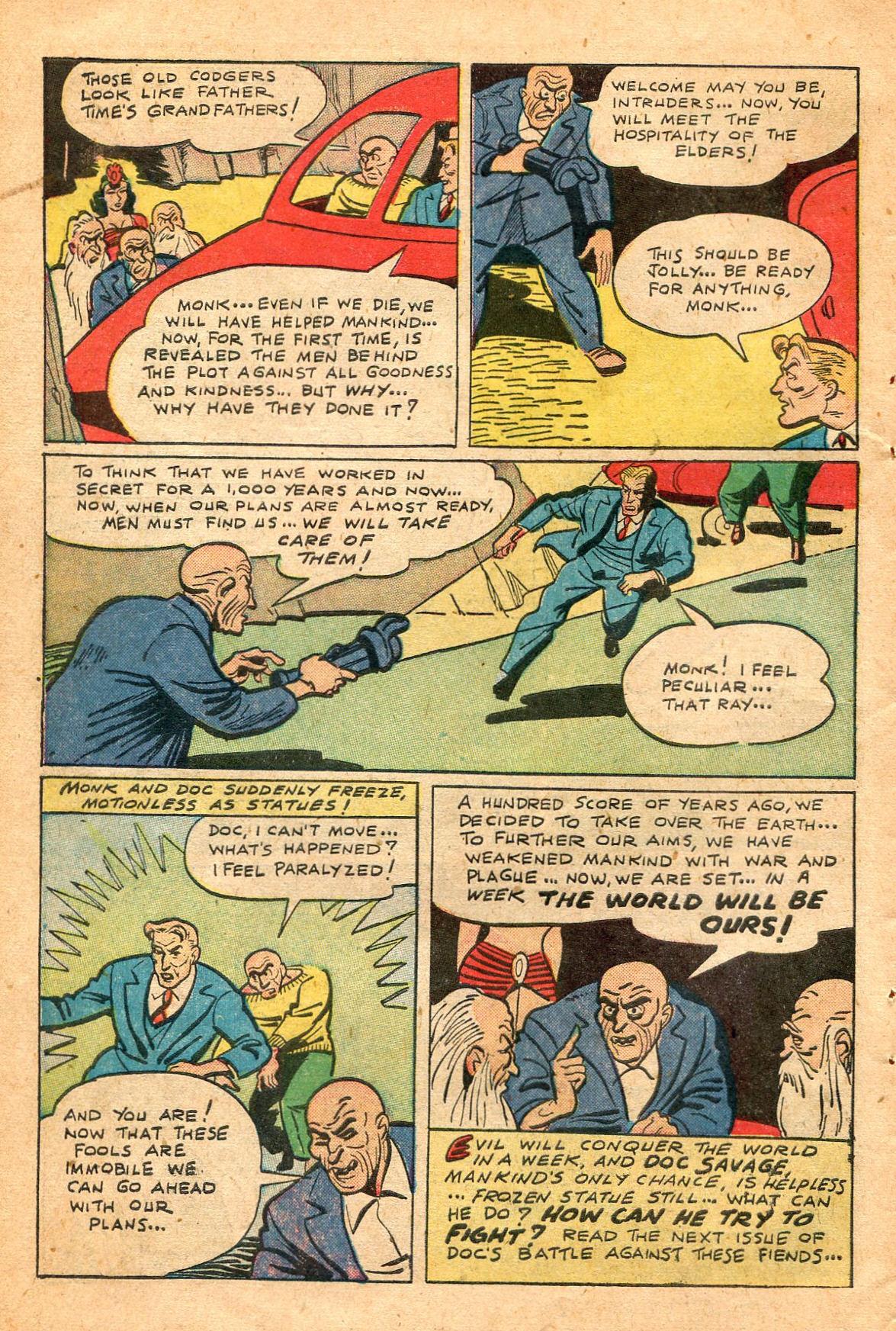 Read online Shadow Comics comic -  Issue #60 - 42