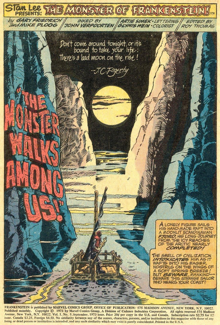 Frankenstein (1973) 5 Page 2