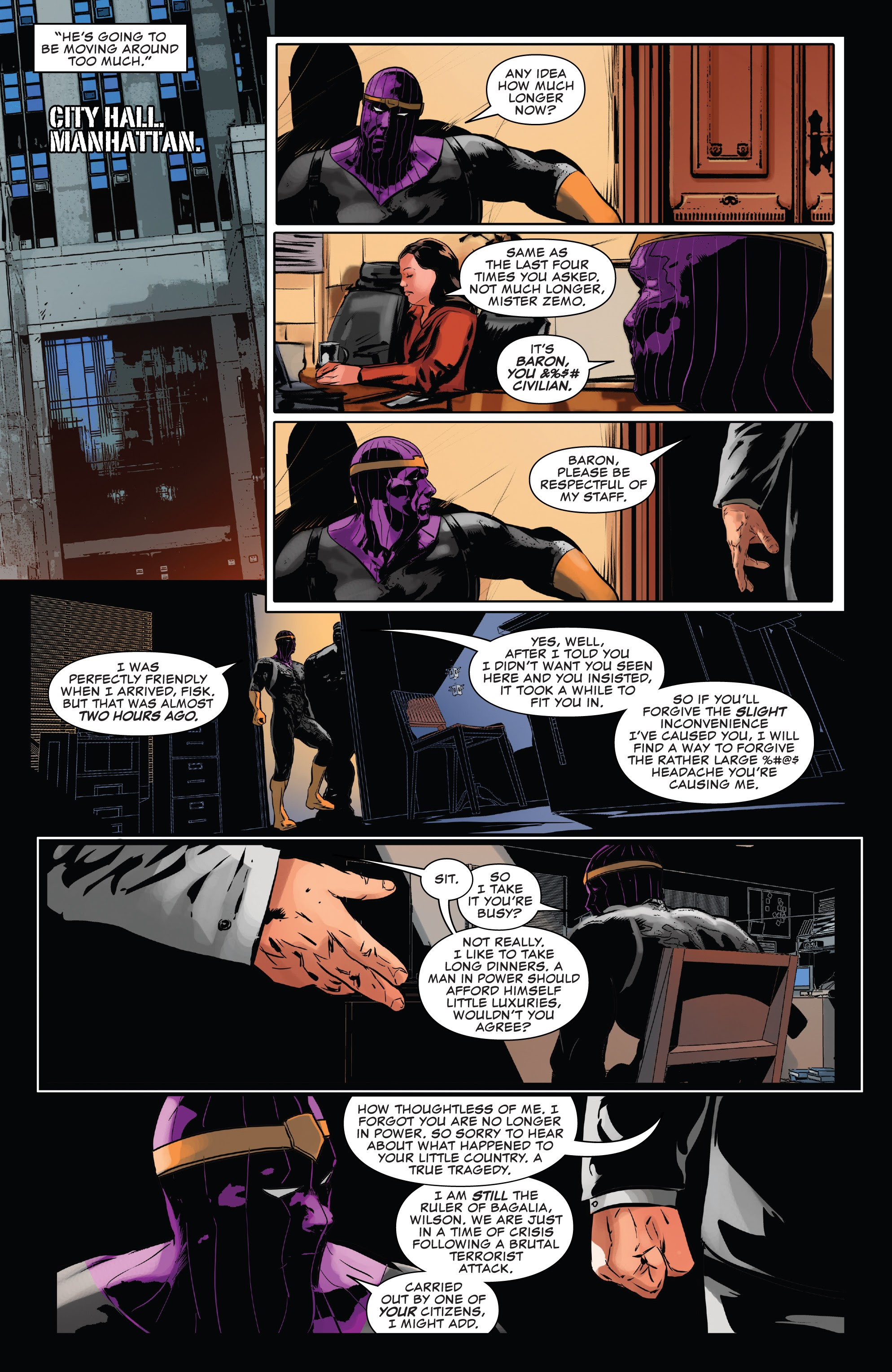 Read online The Punisher (2018) comic -  Issue #13 - 8