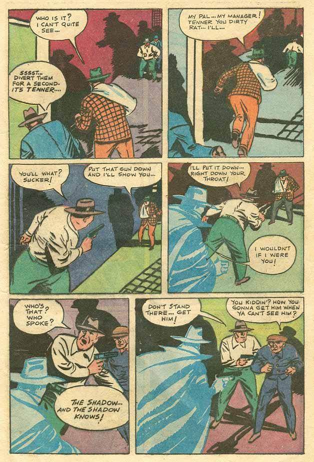 Read online Shadow Comics comic -  Issue #79 - 12