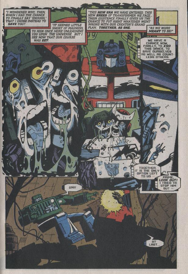 Read online Transformers: Generation 2 comic -  Issue #7 - 21