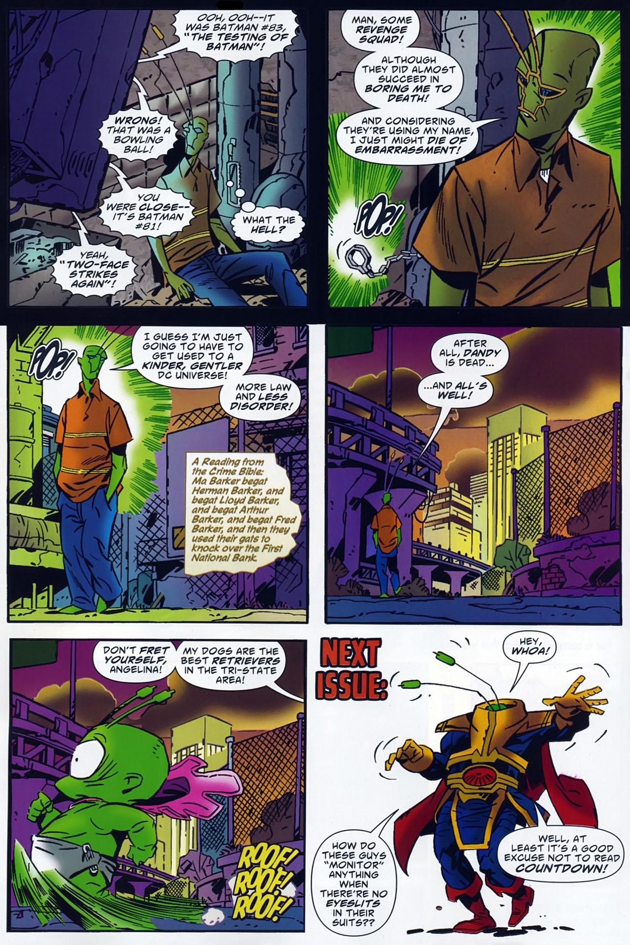 Read online Ambush Bug: Year None comic -  Issue #4 - 24