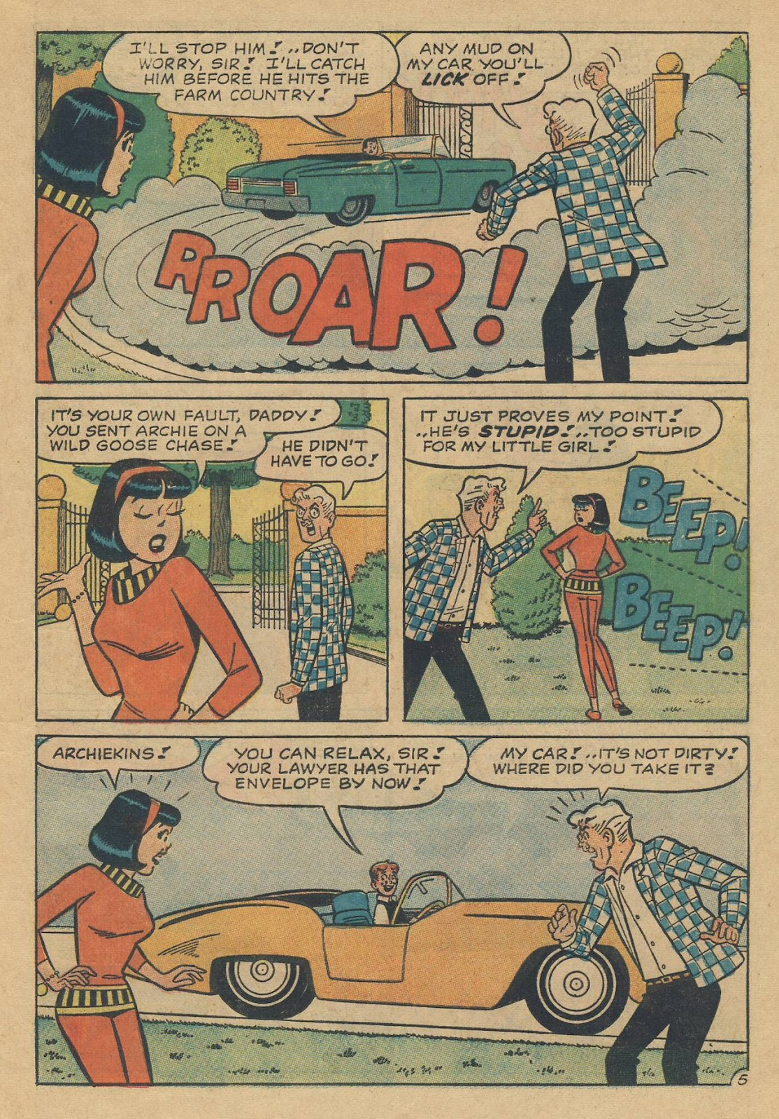 Read online Archie (1960) comic -  Issue #170 - 17
