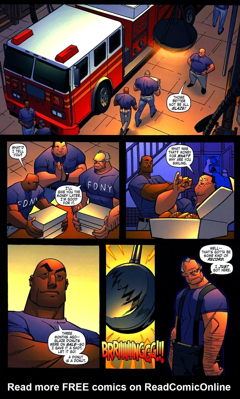 Read online Amazing Fantasy (2004) comic -  Issue #15 - 25