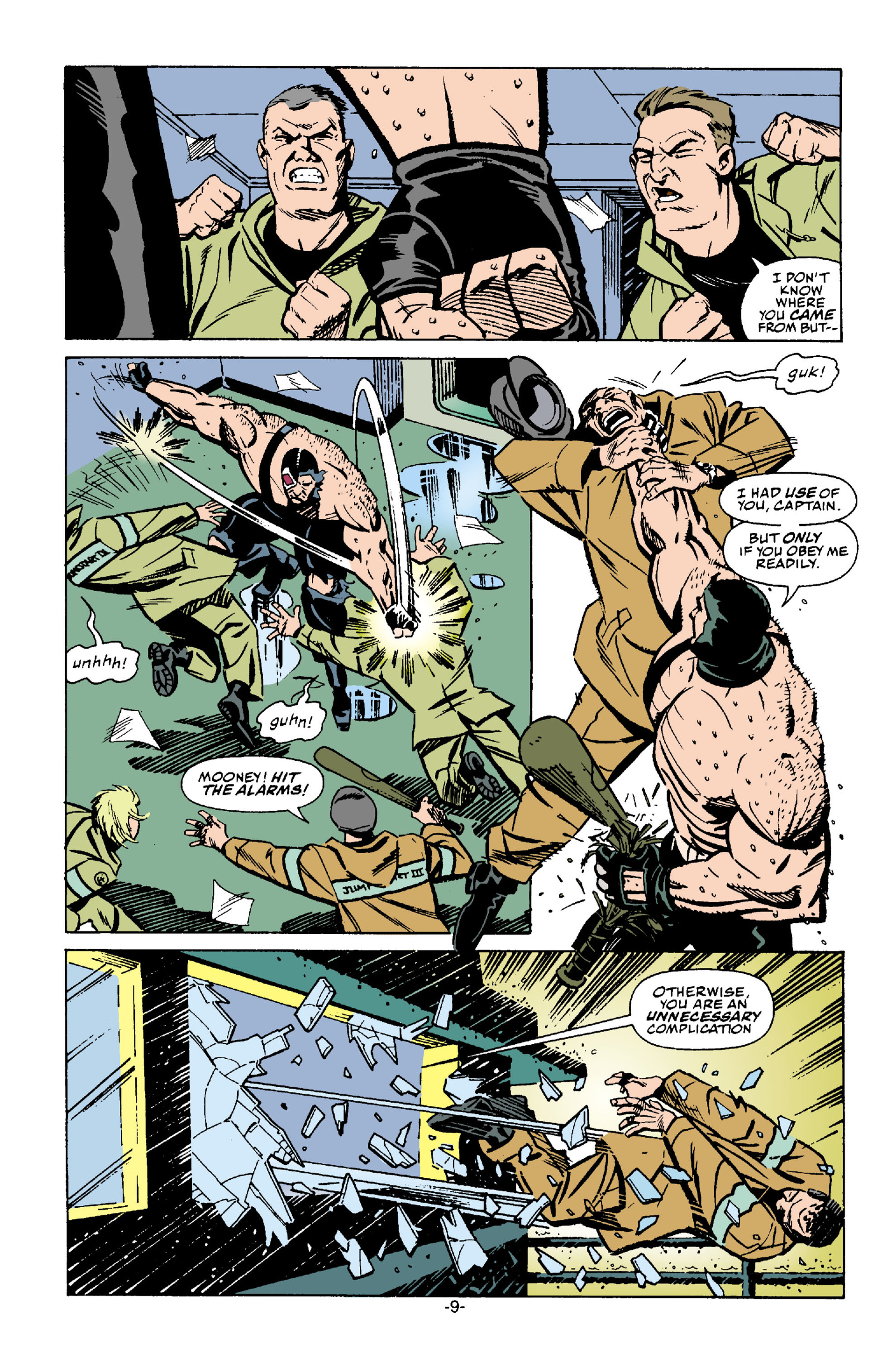 Read online Batman: Bane comic -  Issue # Full - 10