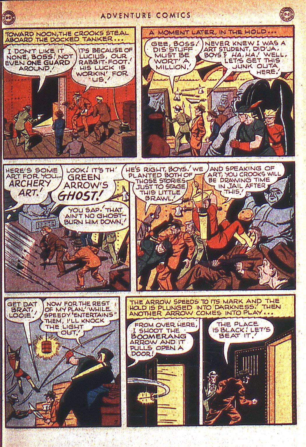 Read online Adventure Comics (1938) comic -  Issue #125 - 22
