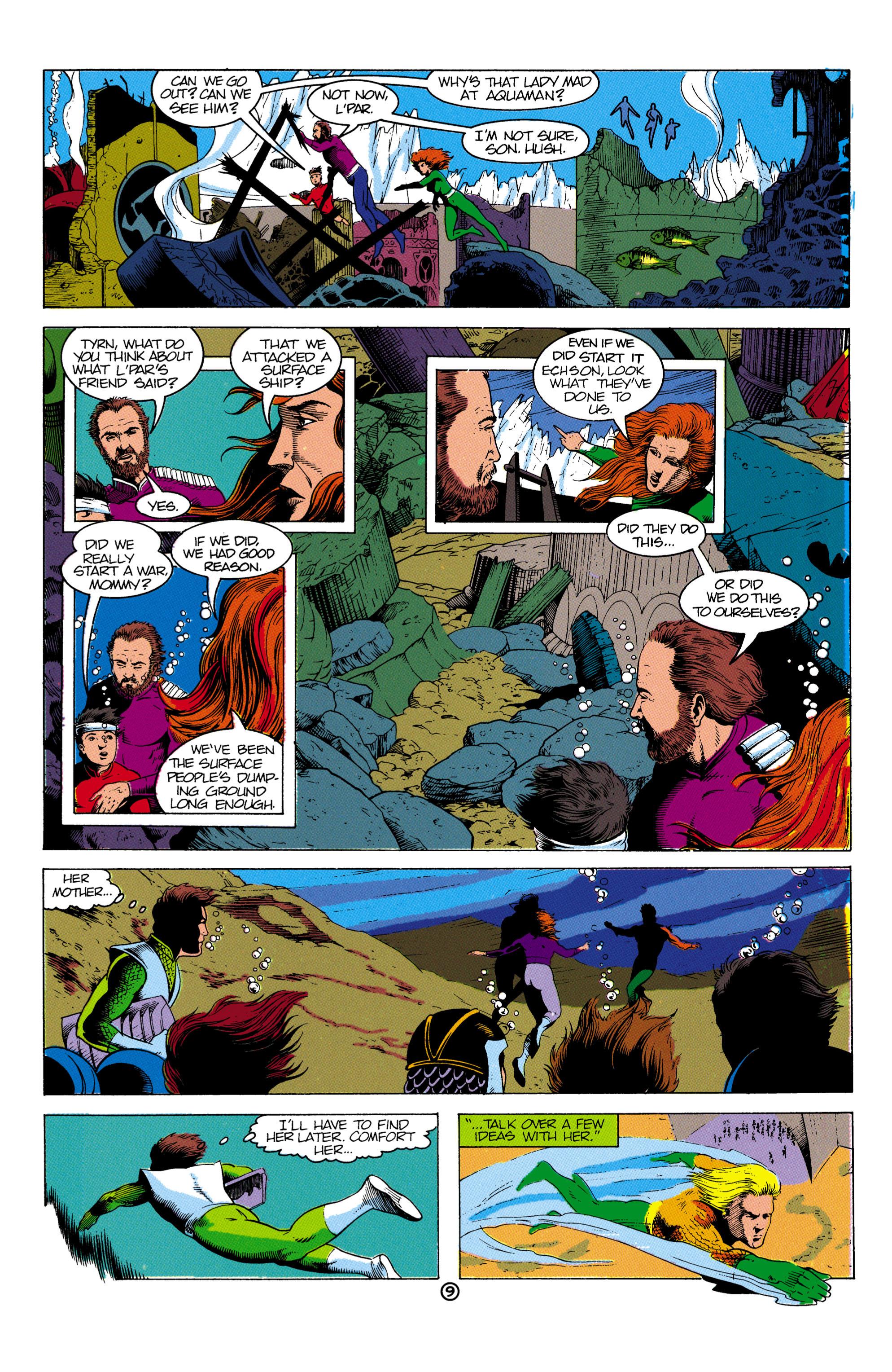 Read online Aquaman (1991) comic -  Issue #2 - 10