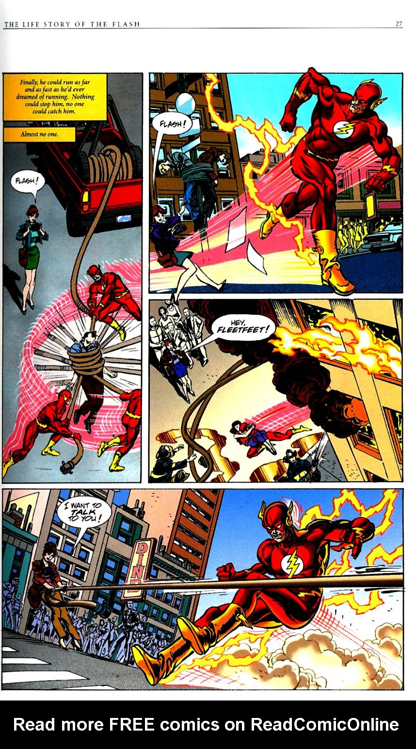 Read online The Life Story of the Flash comic -  Issue # Full - 29