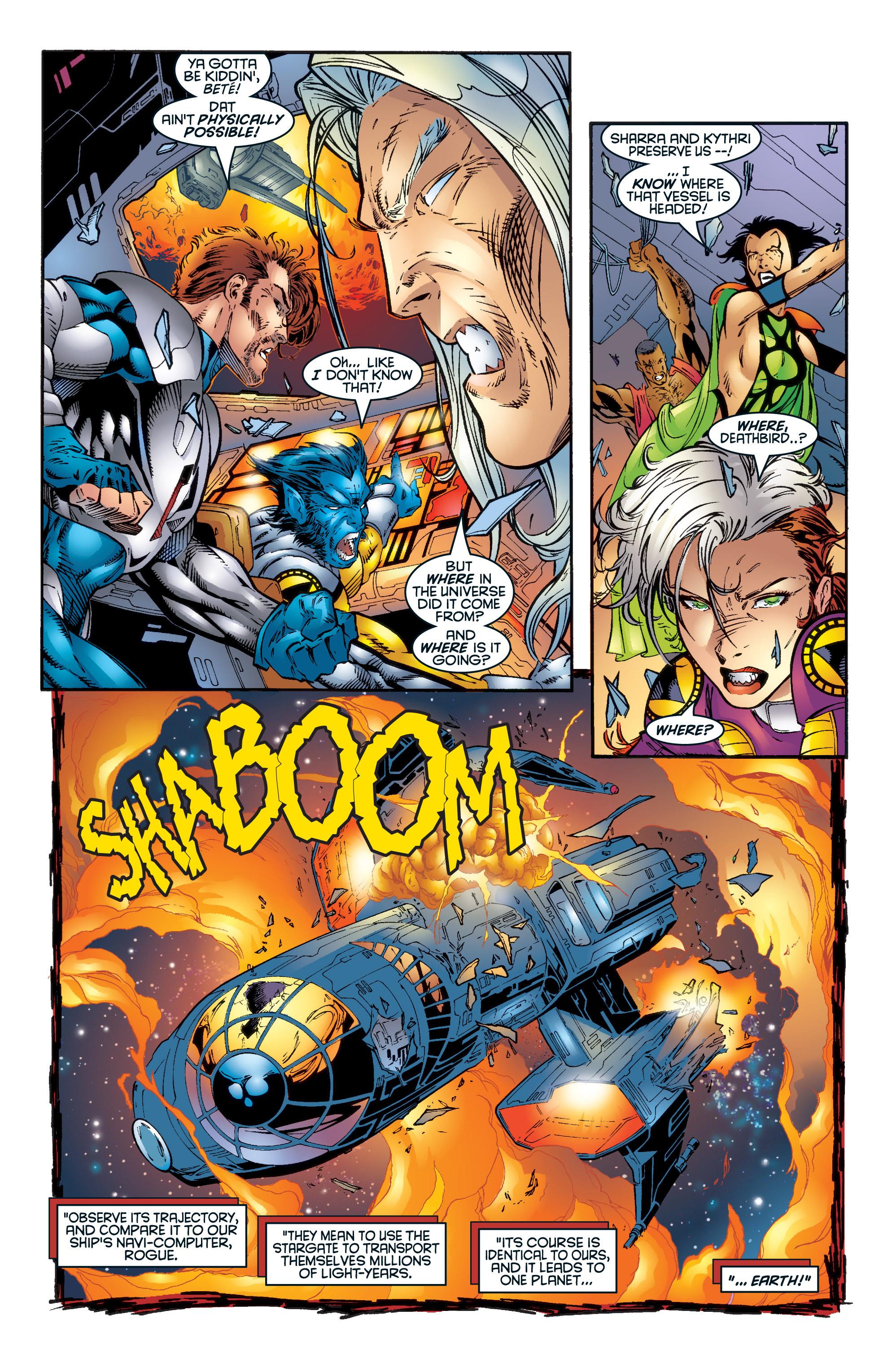 Read online Uncanny X-Men (1963) comic -  Issue #345 - 23