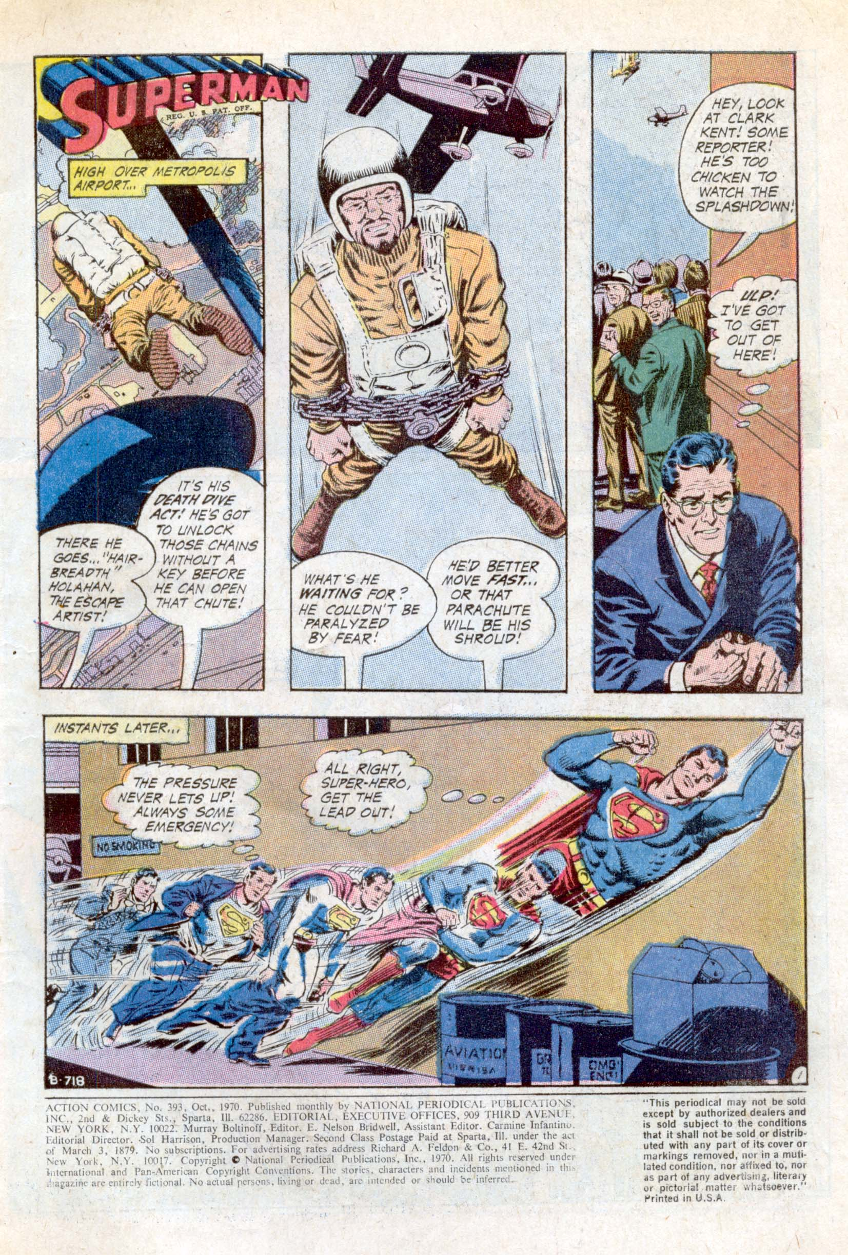 Read online Action Comics (1938) comic -  Issue #393 - 3