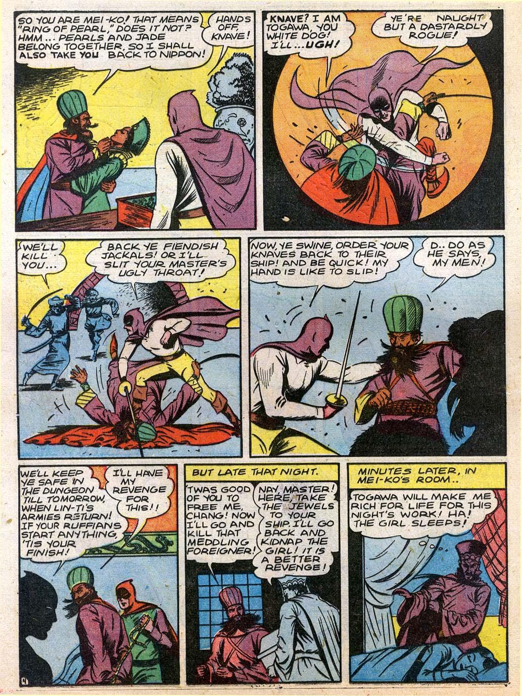 Read online Sensation (Mystery) Comics comic -  Issue #27 - 20