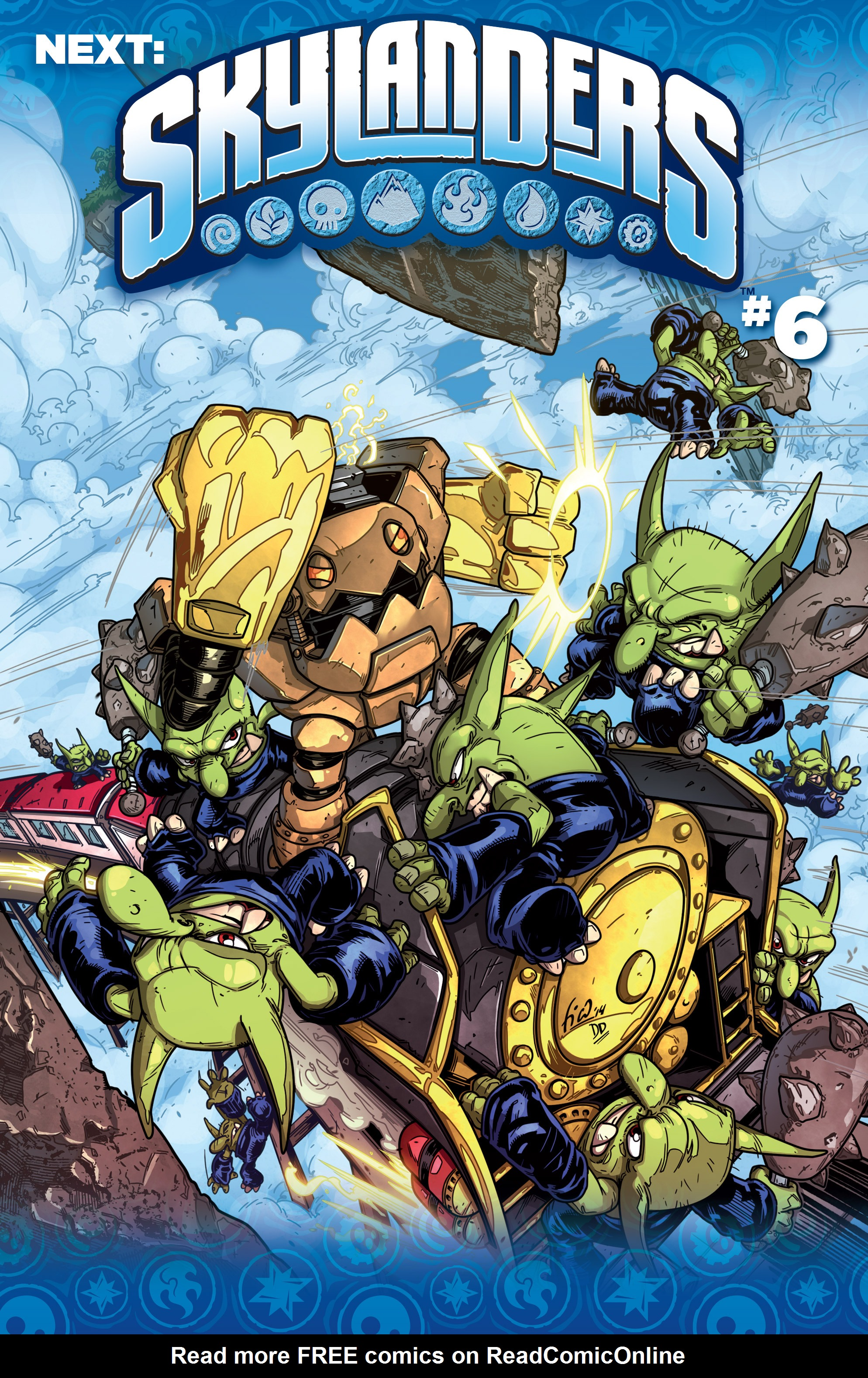 Read online Skylanders comic -  Issue #5 - 27