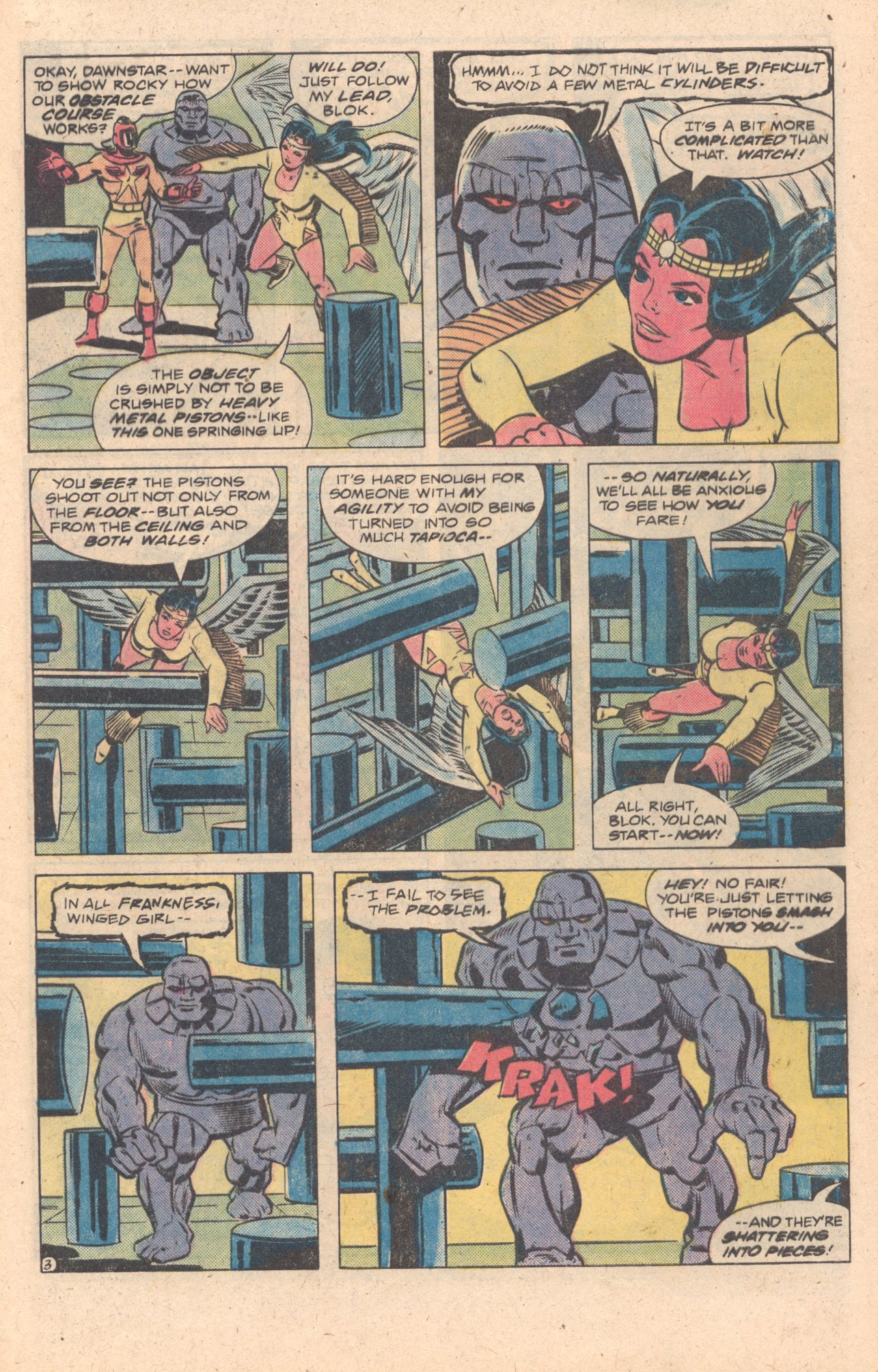 Legion of Super-Heroes (1980) 272 Page 3