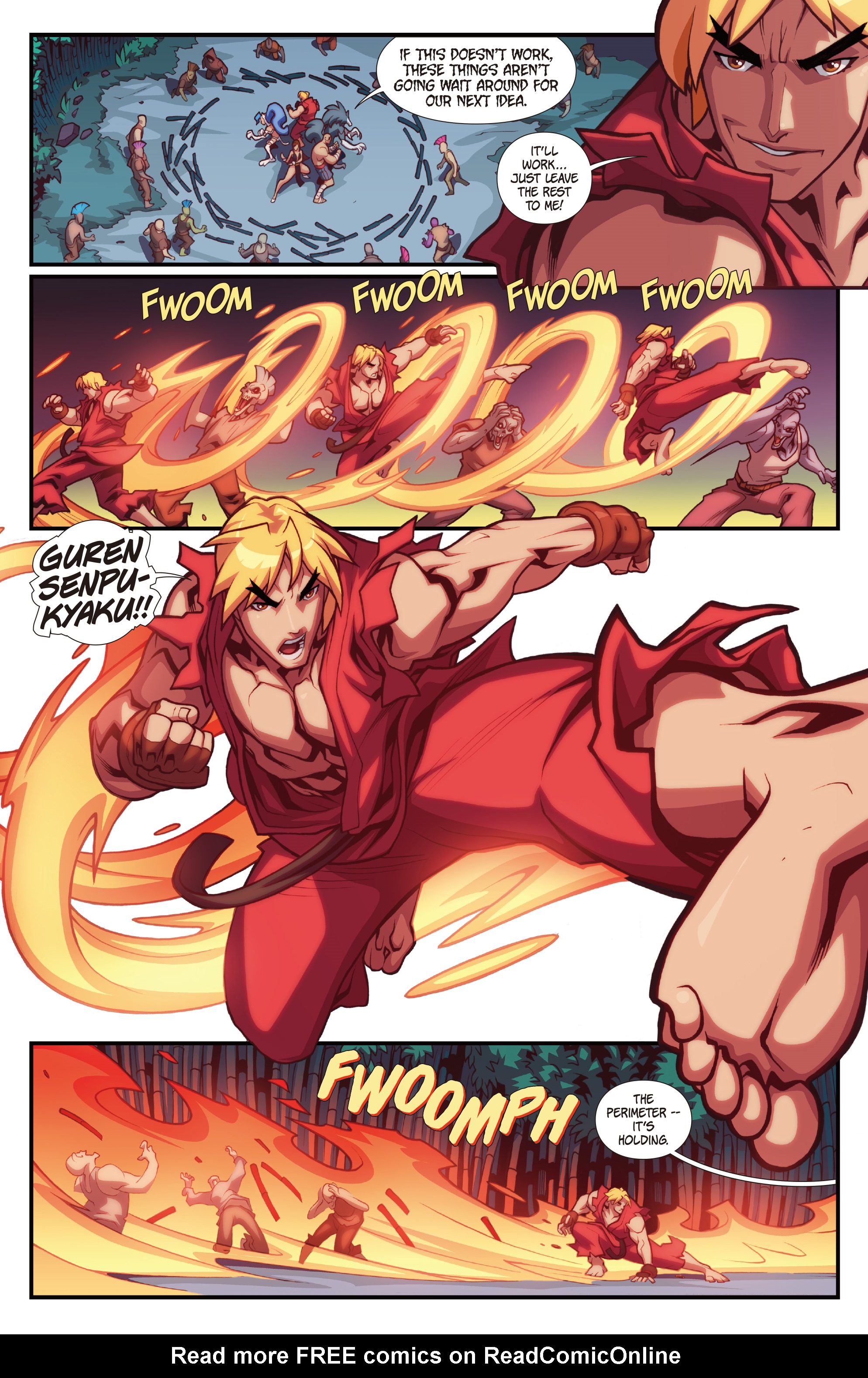 Read online Street Fighter VS Darkstalkers comic -  Issue #2 - 16