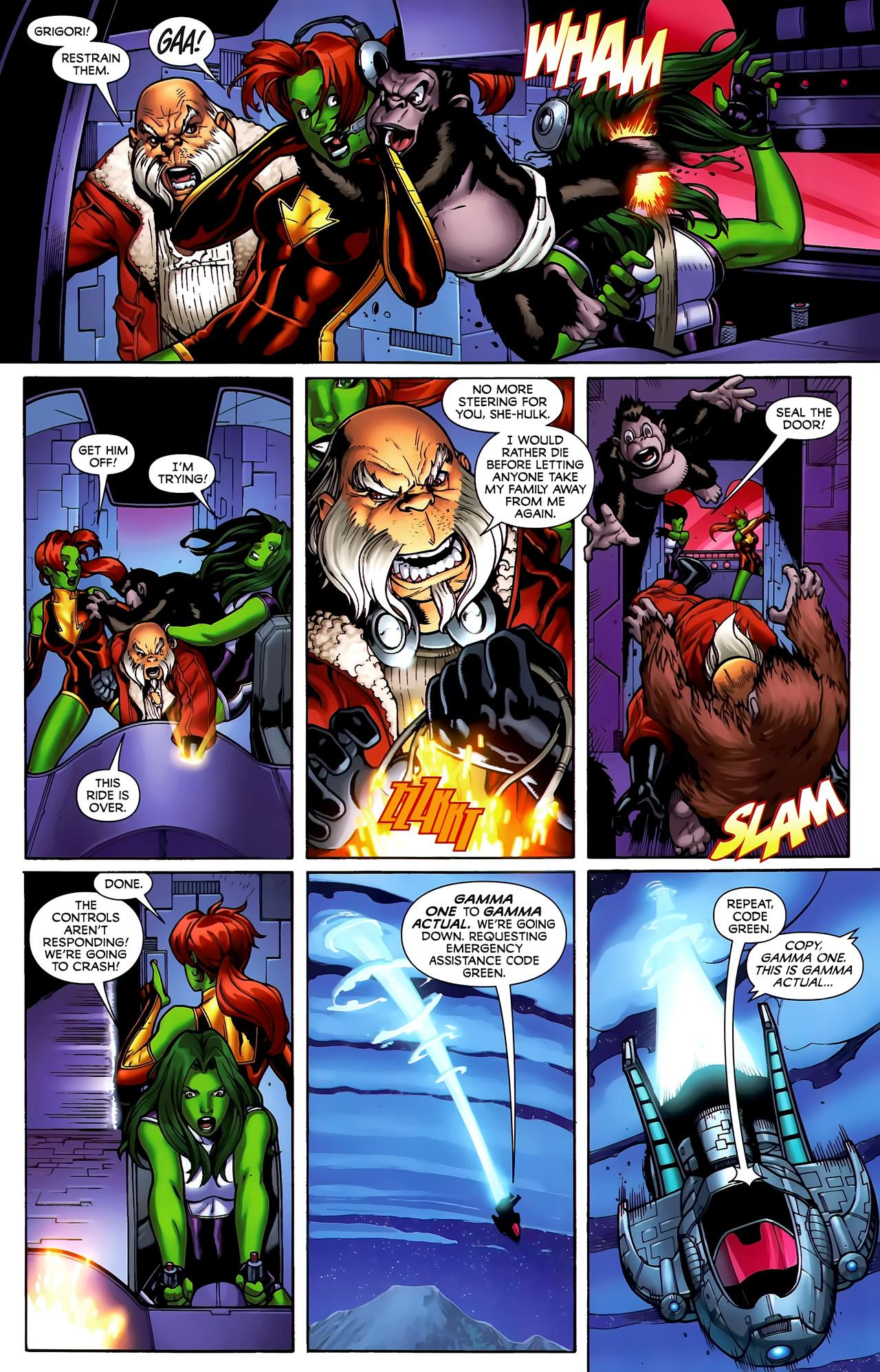 Read online She-Hulks comic -  Issue #3 - 5