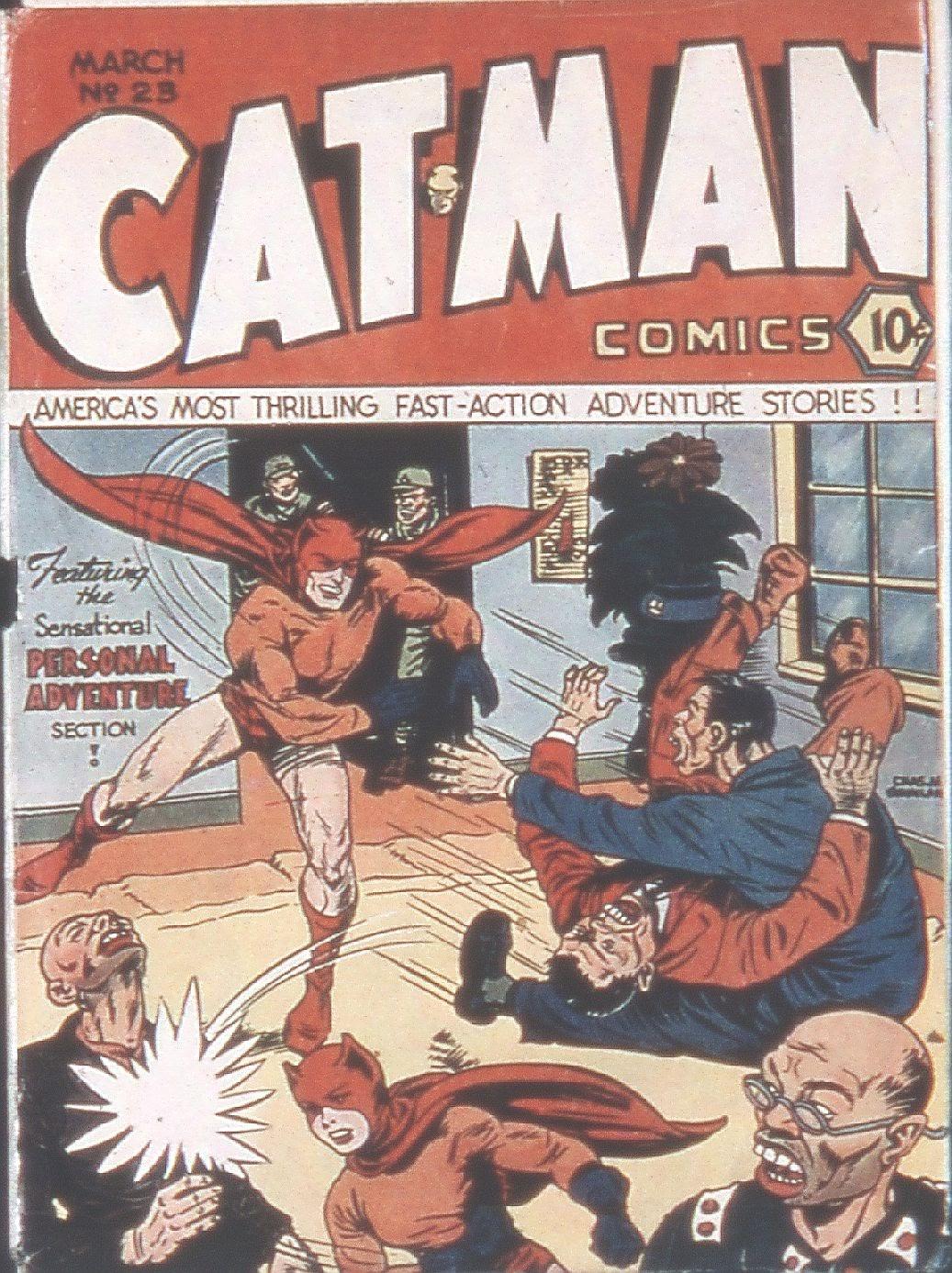 Cat-Man Comics 23 Page 1