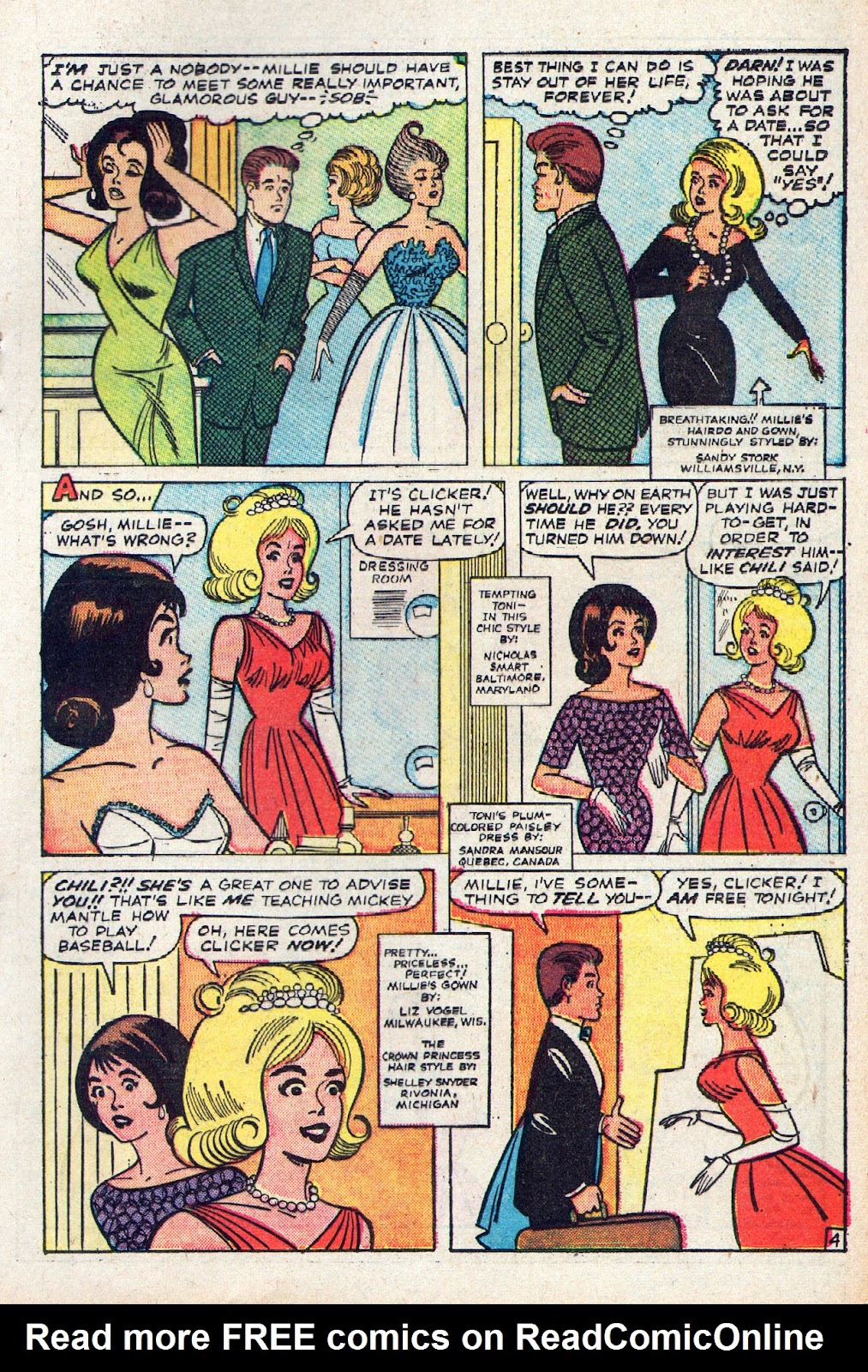 Read online Millie the Model comic -  Issue # Annual 2 - 71