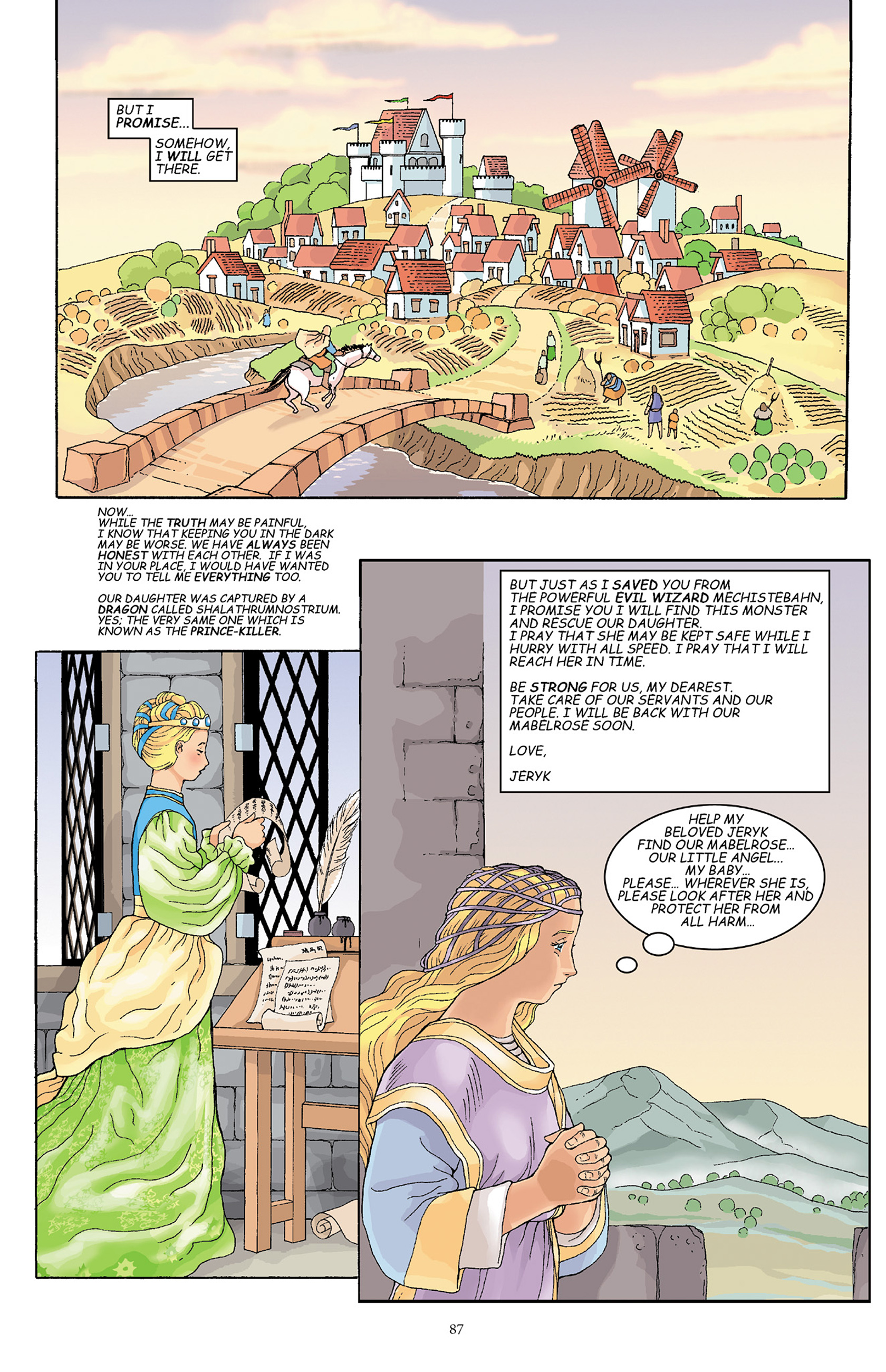 Read online Courageous Princess comic -  Issue # TPB 1 - 88