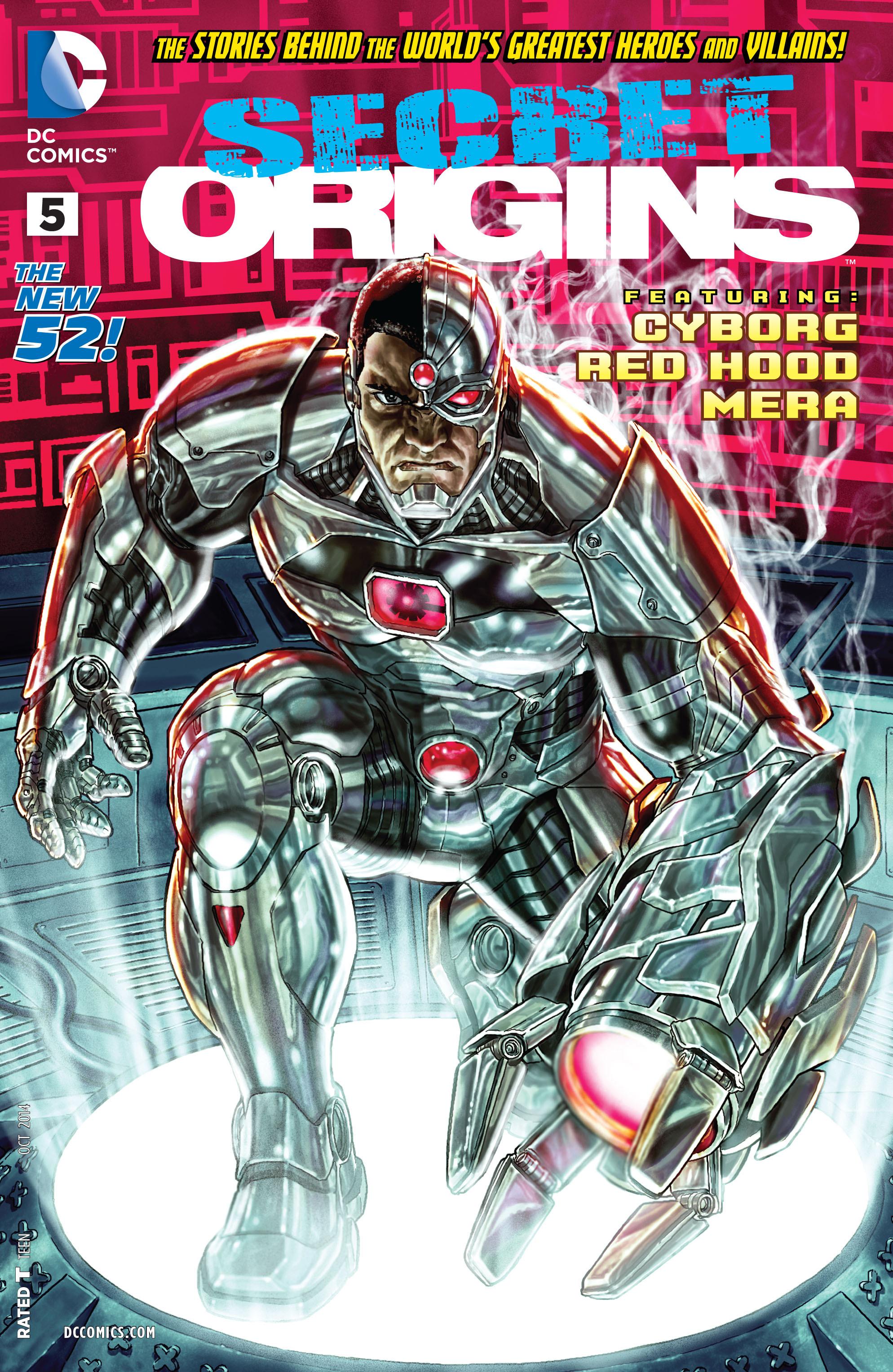 Read online Secret Origins (2014) comic -  Issue #5 - 1