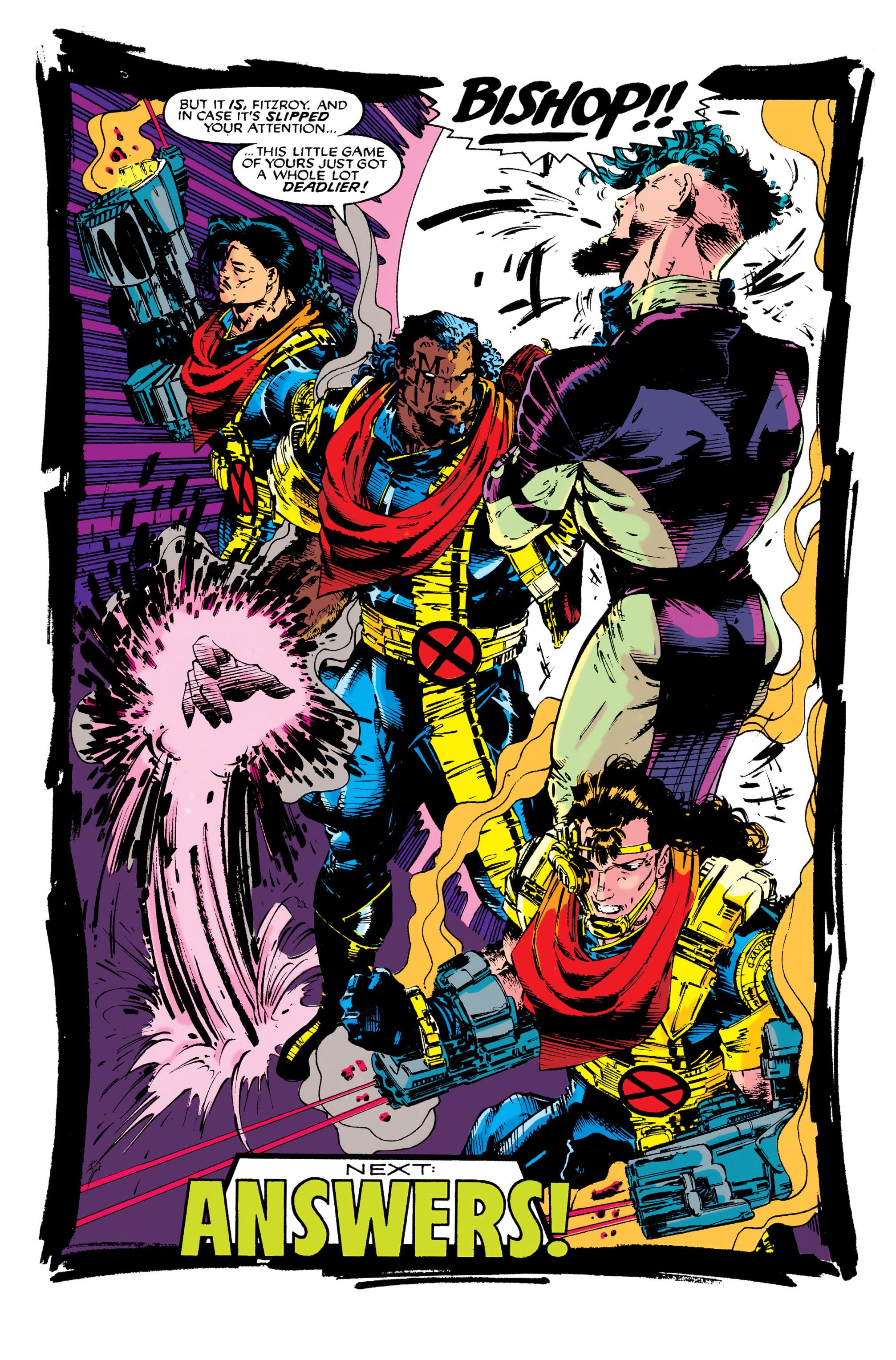 Read online Uncanny X-Men (1963) comic -  Issue #282 - 22