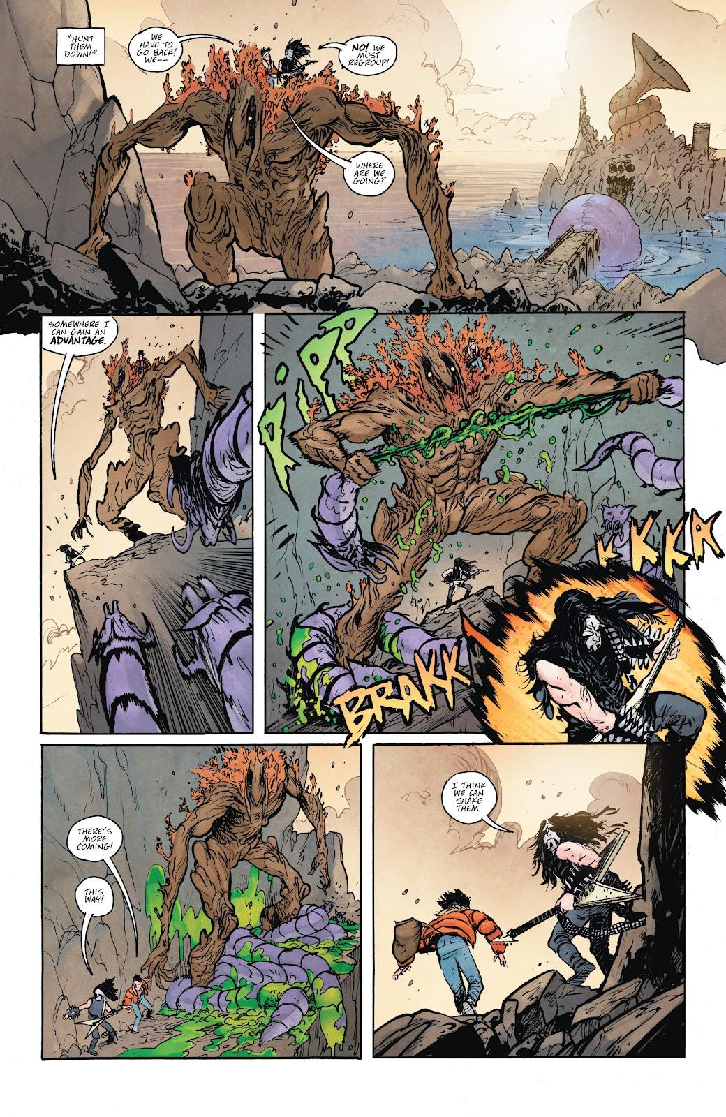 Read online Murder Falcon comic -  Issue #6 - 12
