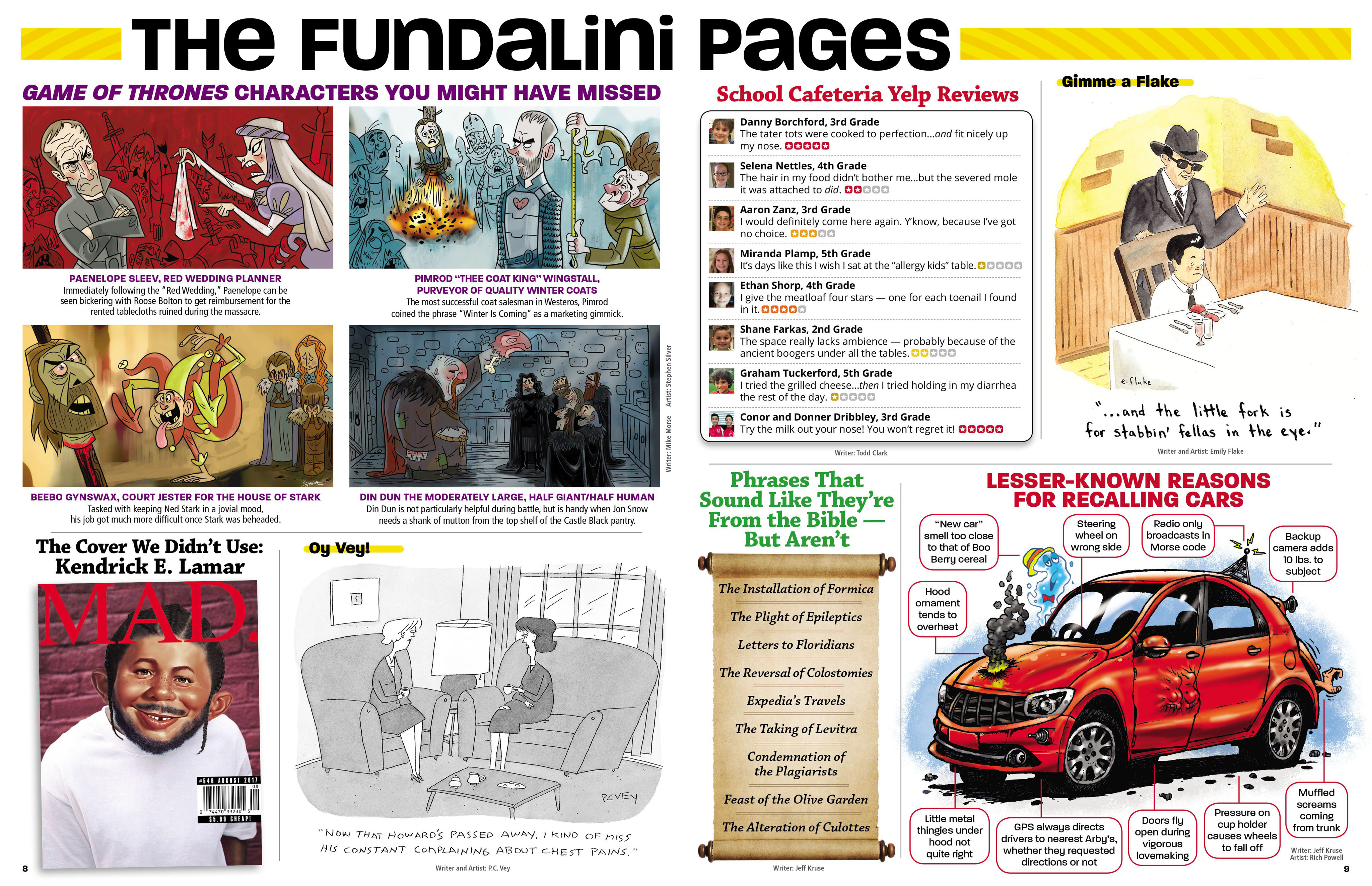 Read online MAD comic -  Issue #546 - 9