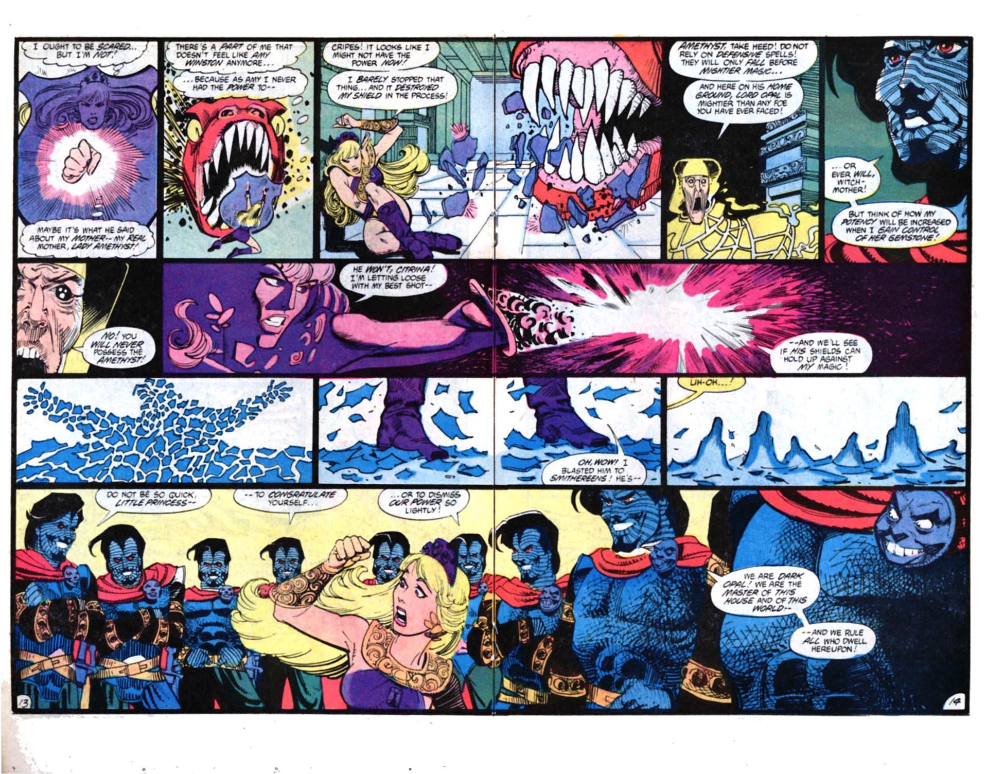 Read online Amethyst, Princess of Gemworld comic -  Issue #4 - 14