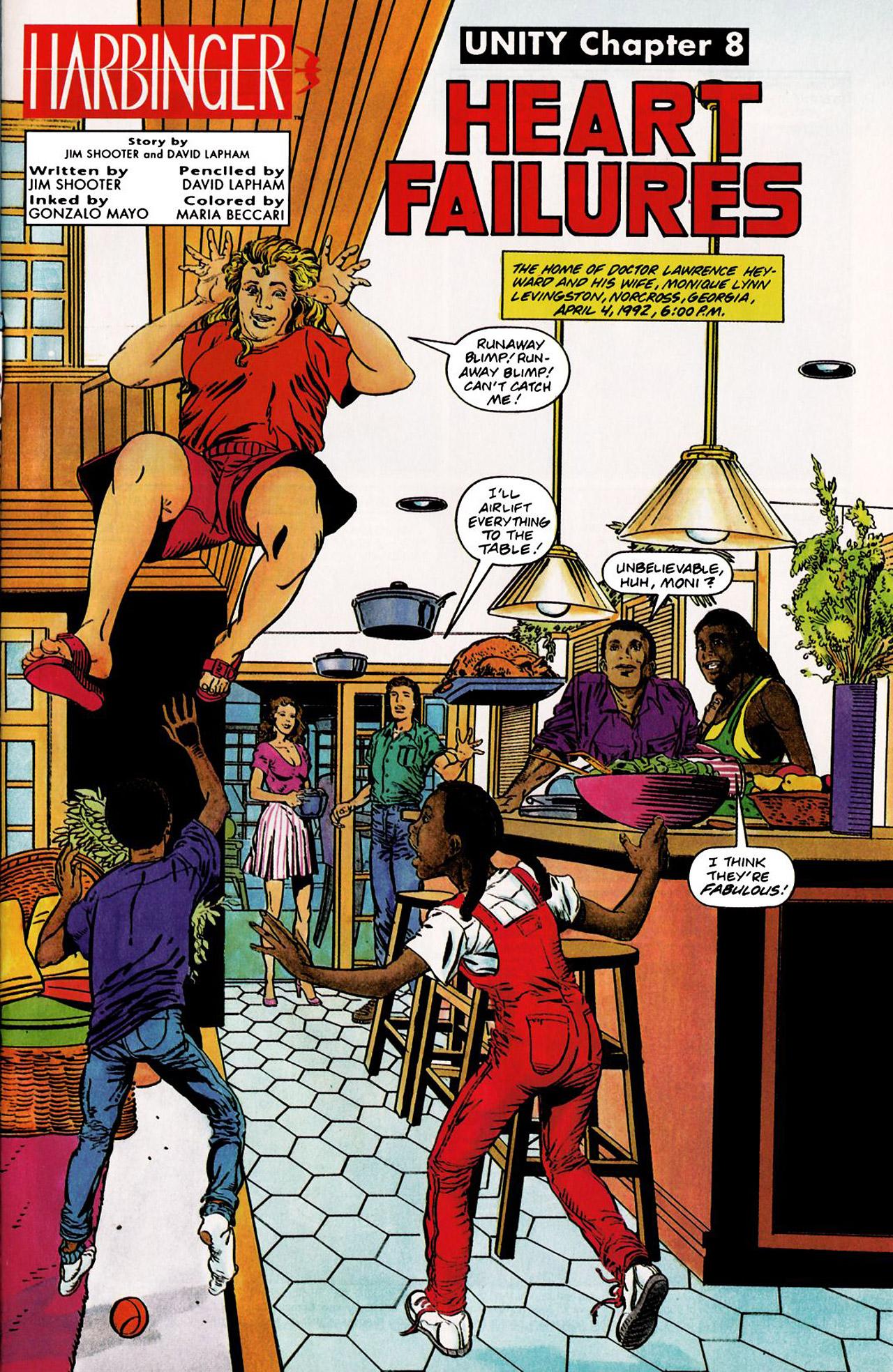 Read online Harbinger (1992) comic -  Issue #8 - 2
