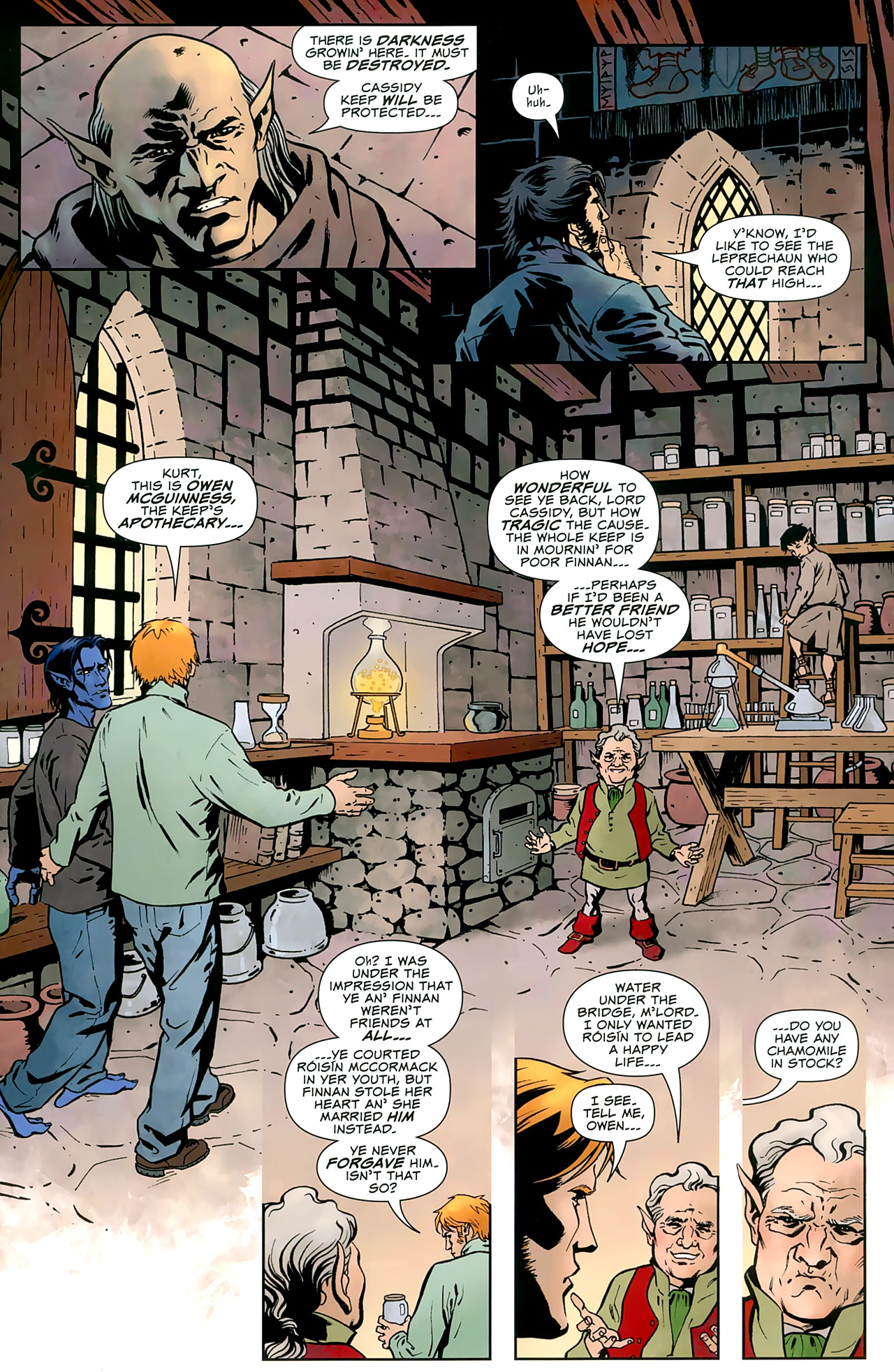 Read online Uncanny X-Men: First Class comic -  Issue #8 - 7