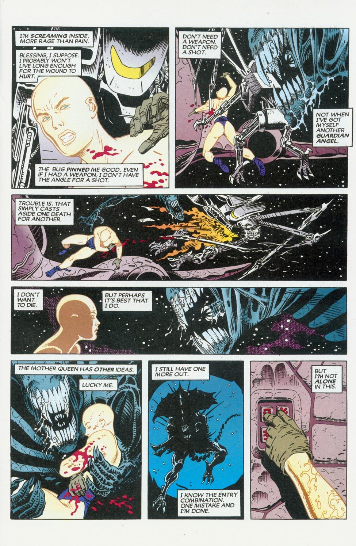 Read online Aliens/Predator: The Deadliest of the Species comic -  Issue #9 - 25