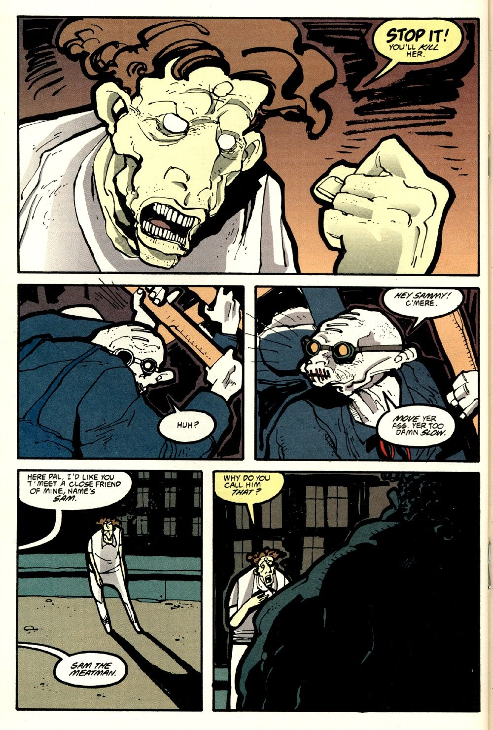 Read online Ted McKeever's Metropol comic -  Issue #8 - 18
