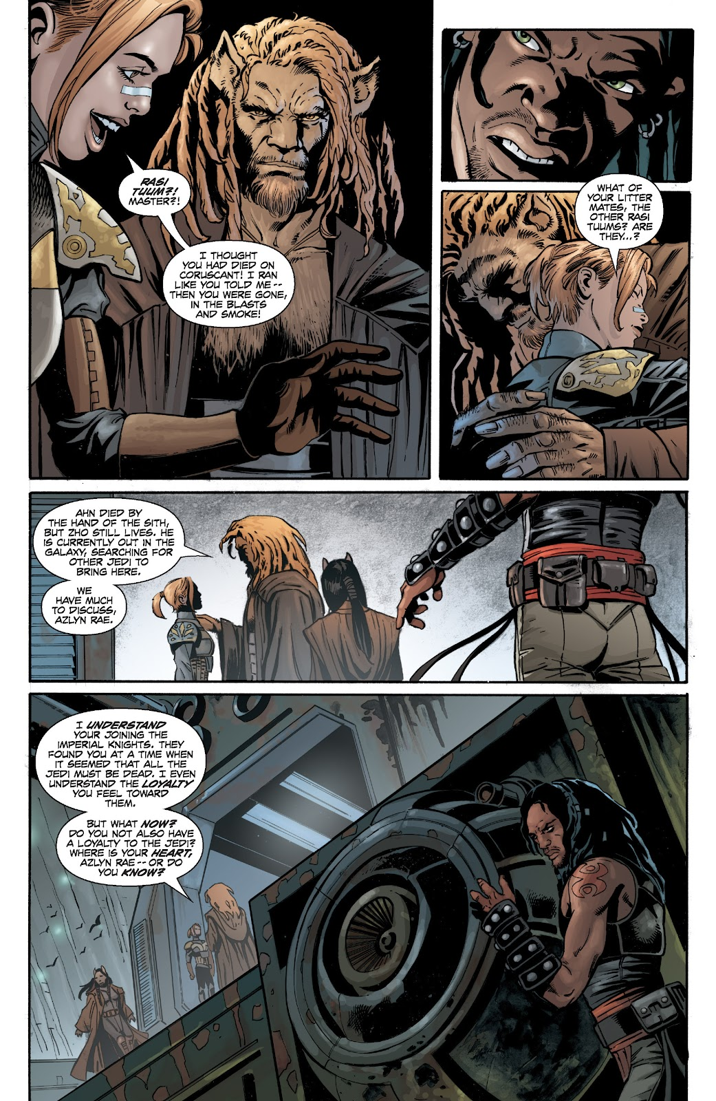 Read online Star Wars Legends: Legacy - Epic Collection comic -  Issue # TPB 2 (Part 2) - 67