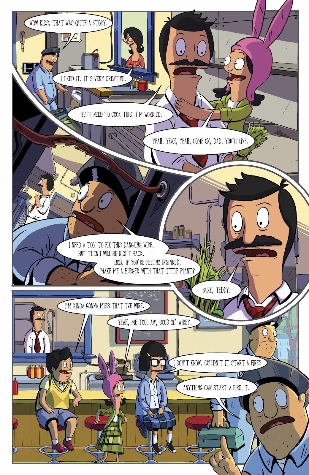 Bob's Burgers (2015) Issue #16 #16 - English 5