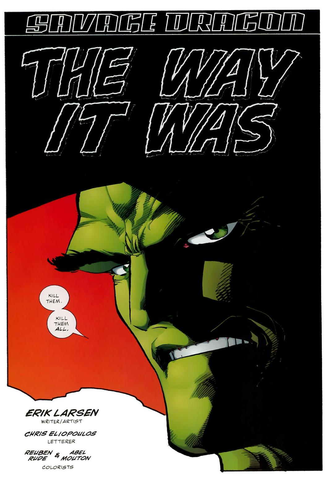 The Savage Dragon (1993) Issue #150 #153 - English 75