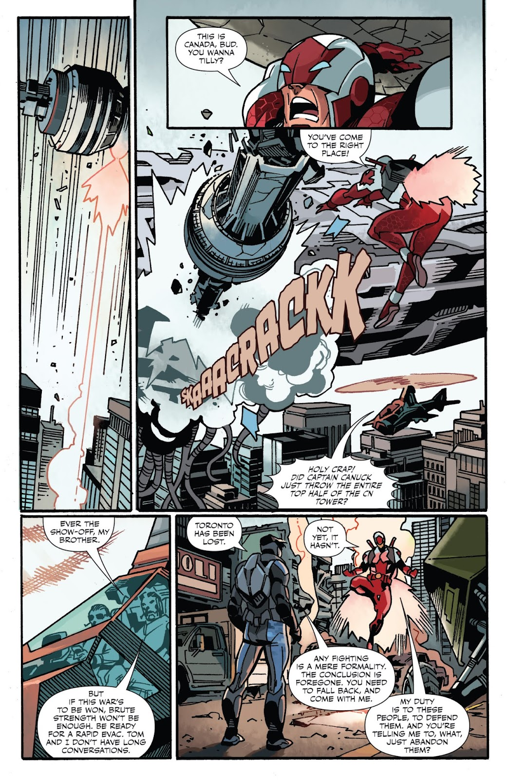 Captain Canuck: Invasion (Canada Day 2018) issue Full - Page 19