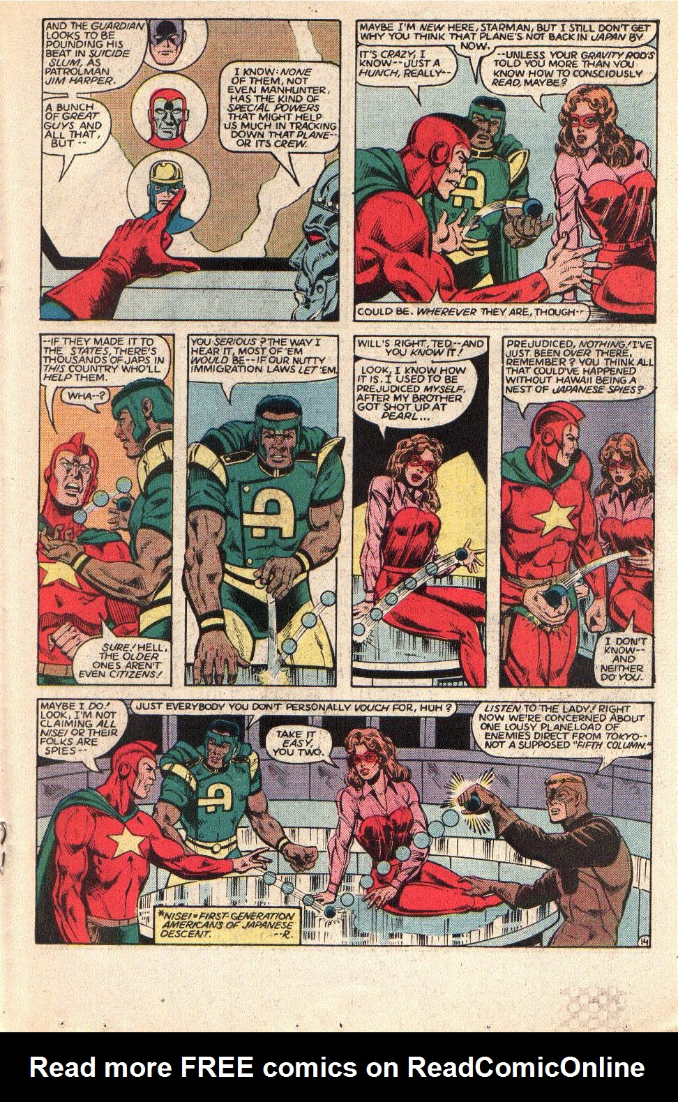 Read online All-Star Squadron comic -  Issue #42 - 19