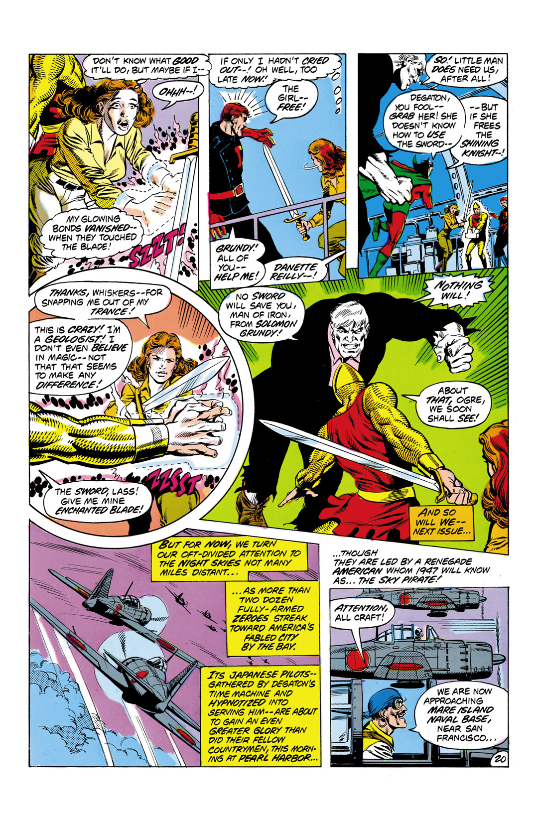 Read online All-Star Squadron comic -  Issue #2 - 21
