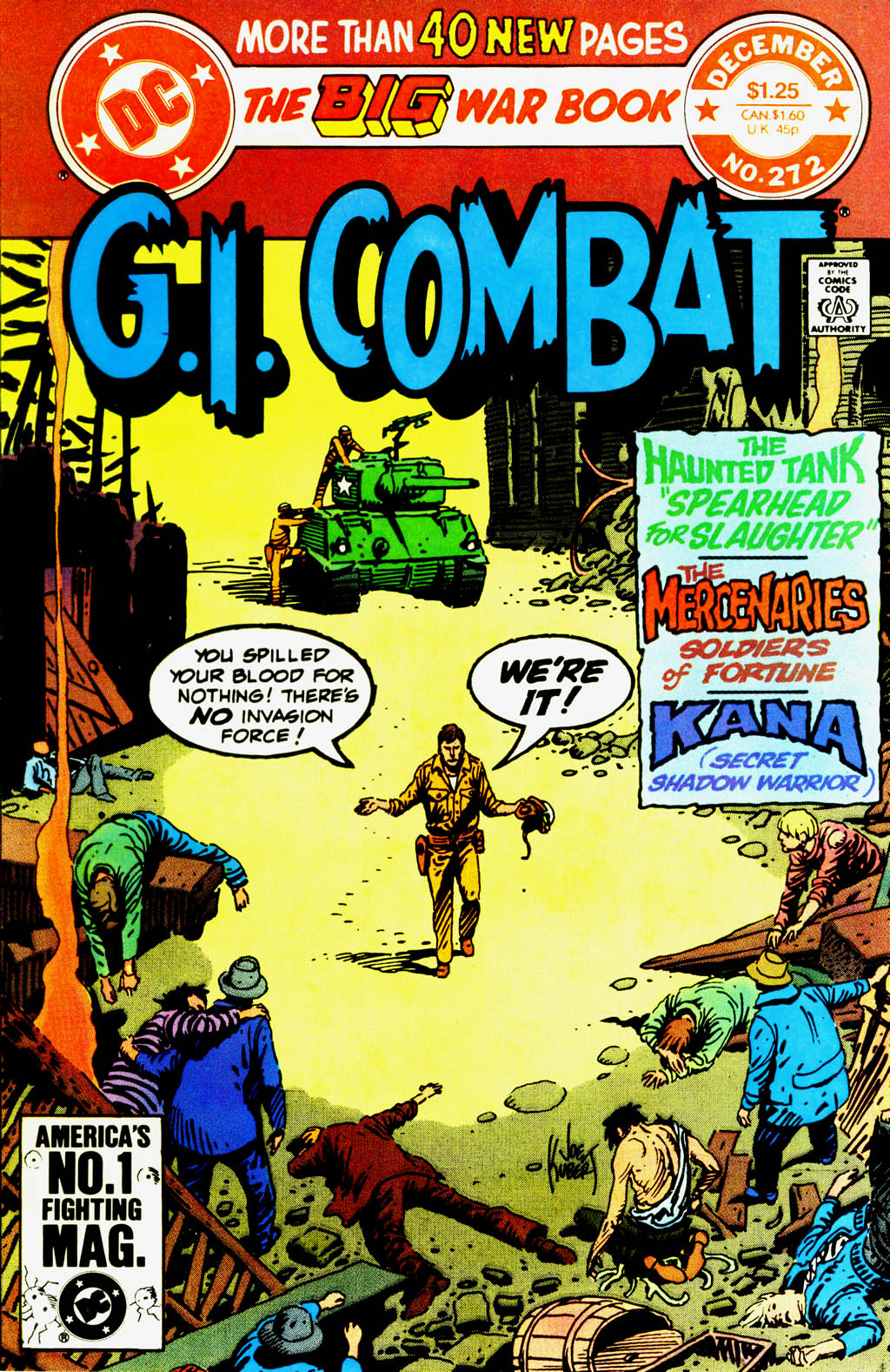 G.I. Combat (1952) issue 272 - Page 1