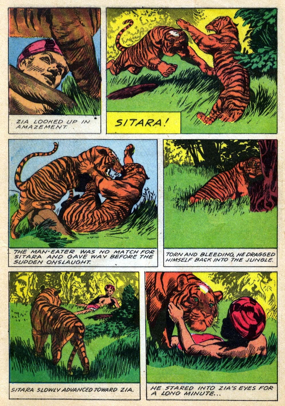 Read online Animal Comics comic -  Issue #22 - 40