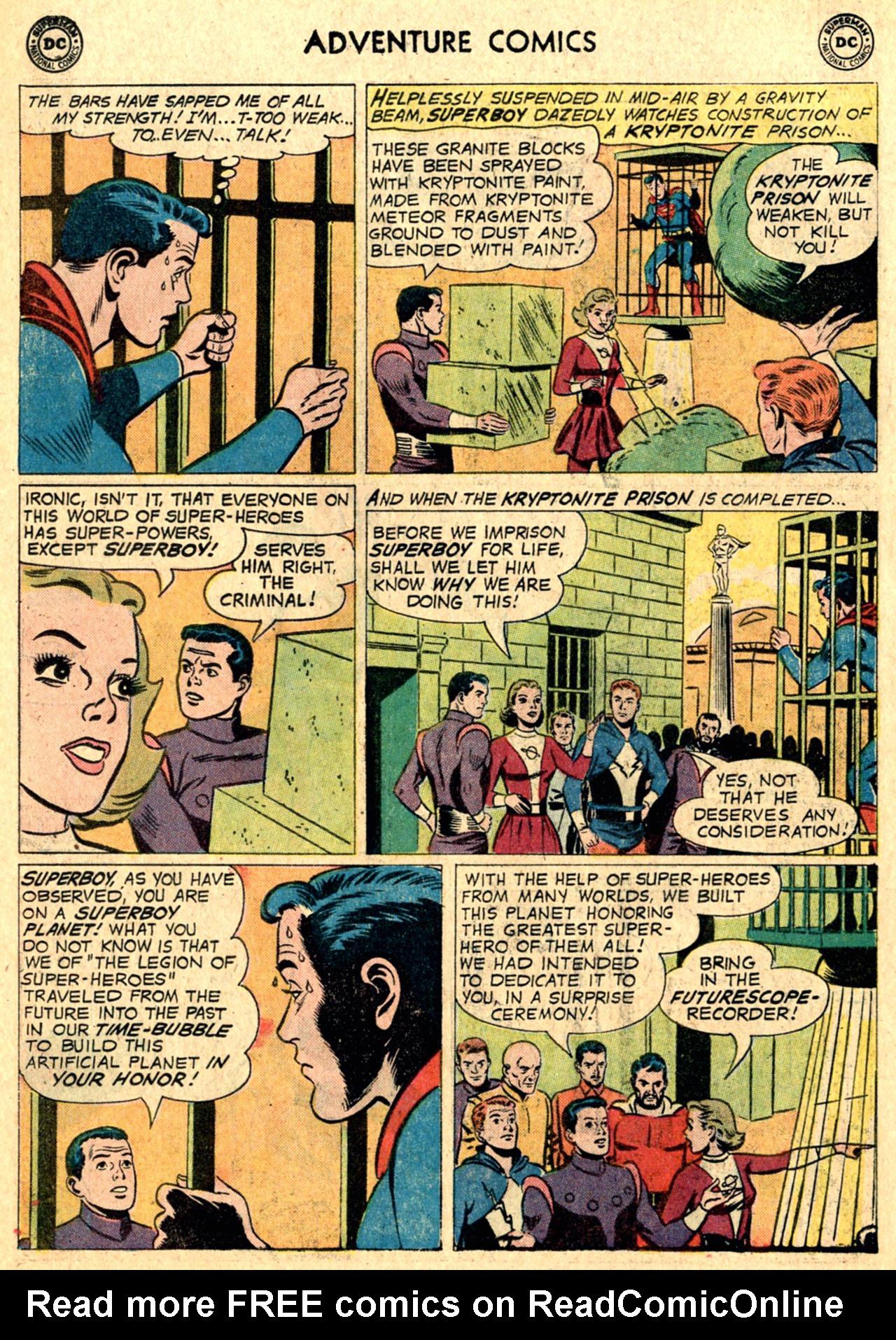 Read online Adventure Comics (1938) comic -  Issue #267 - 10