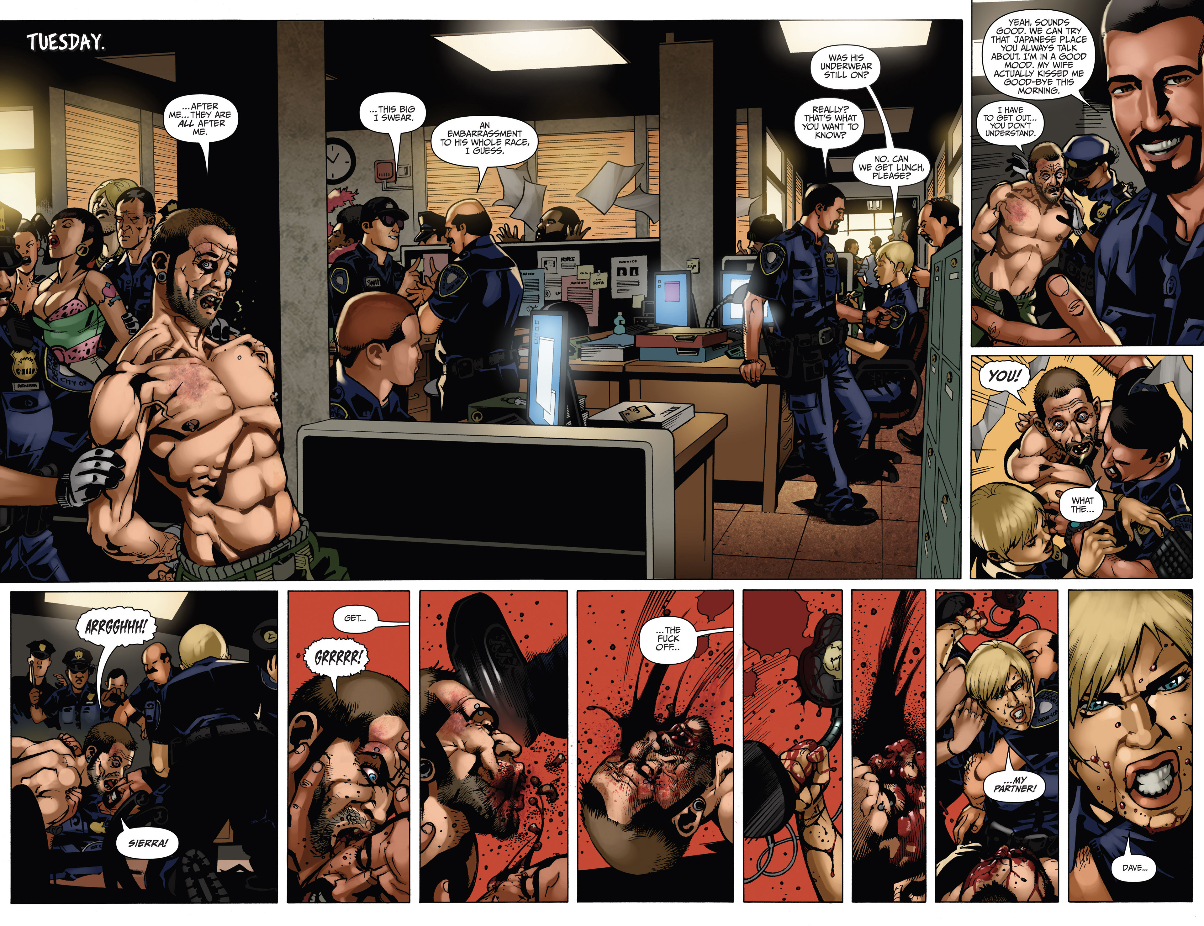 Read online Sex and Violence comic -  Issue # Full - 38