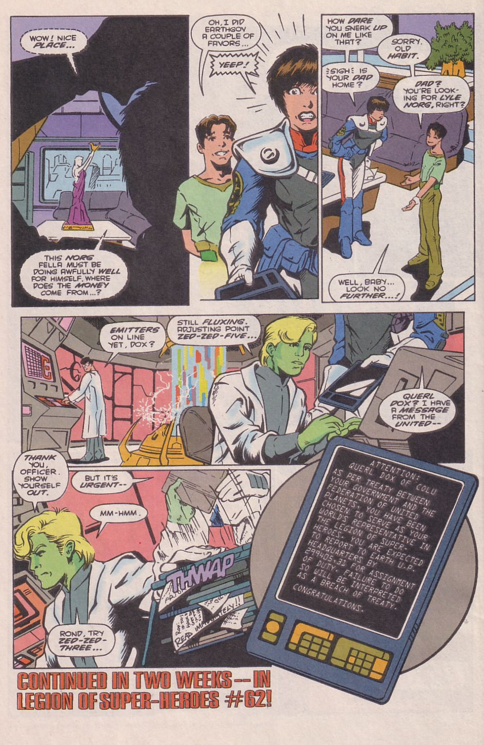 Legionnaires issue 0 - Page 23