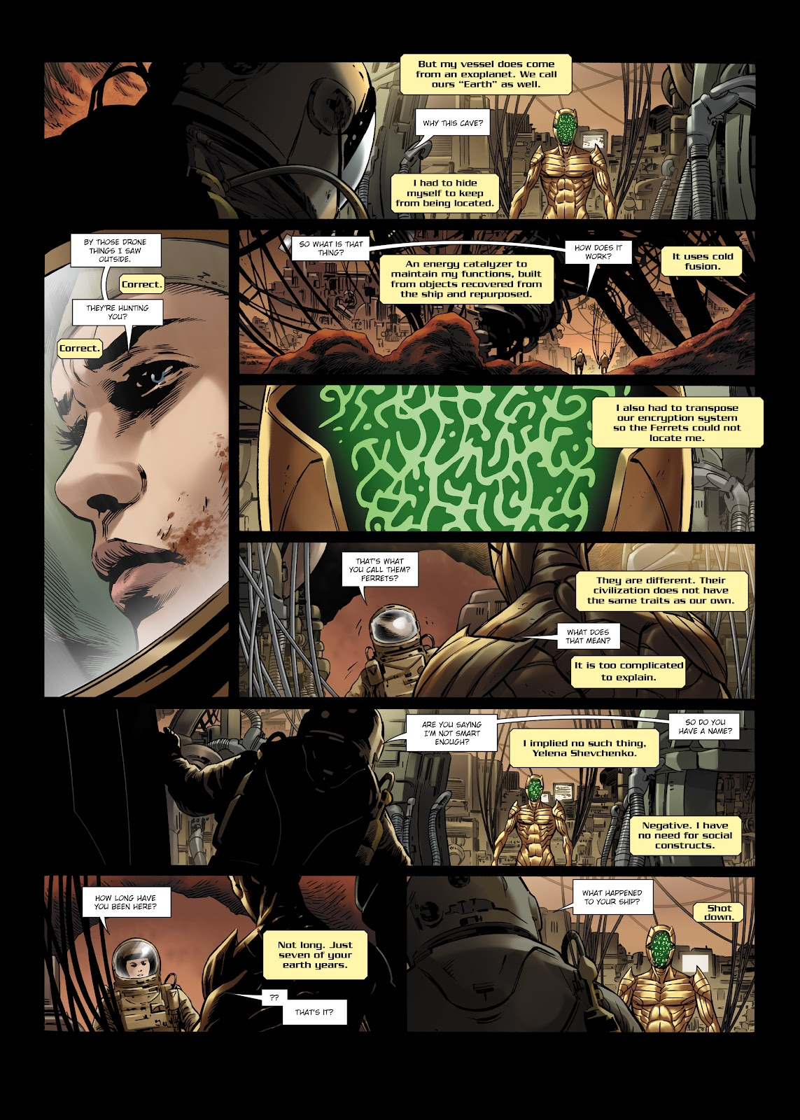 Read online Olympus Mons Vol. 1: Anomaly One comic -  Issue #5 - 14