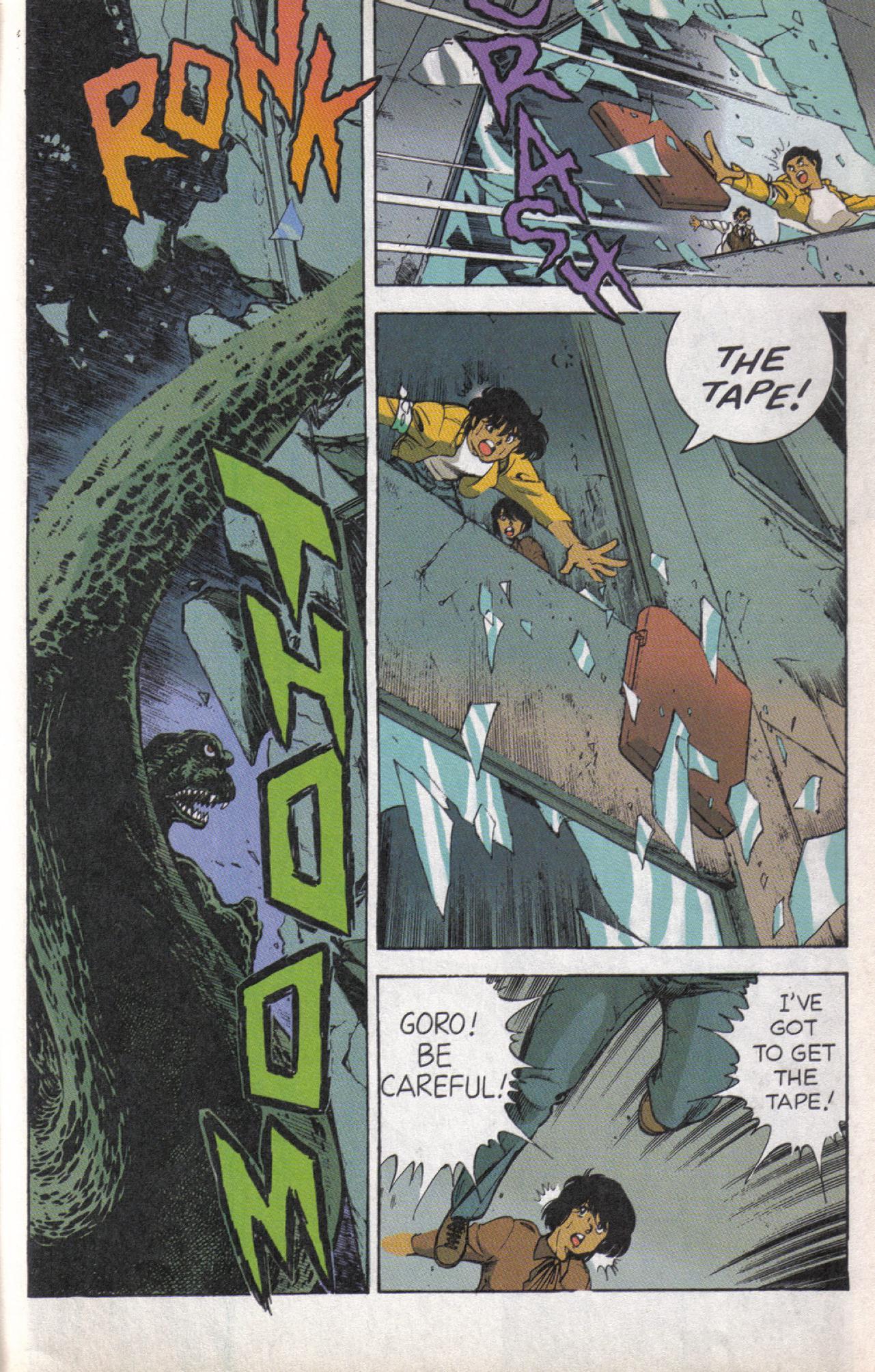 Read online Dark Horse Classics: Terror of Godzilla comic -  Issue #5 - 24